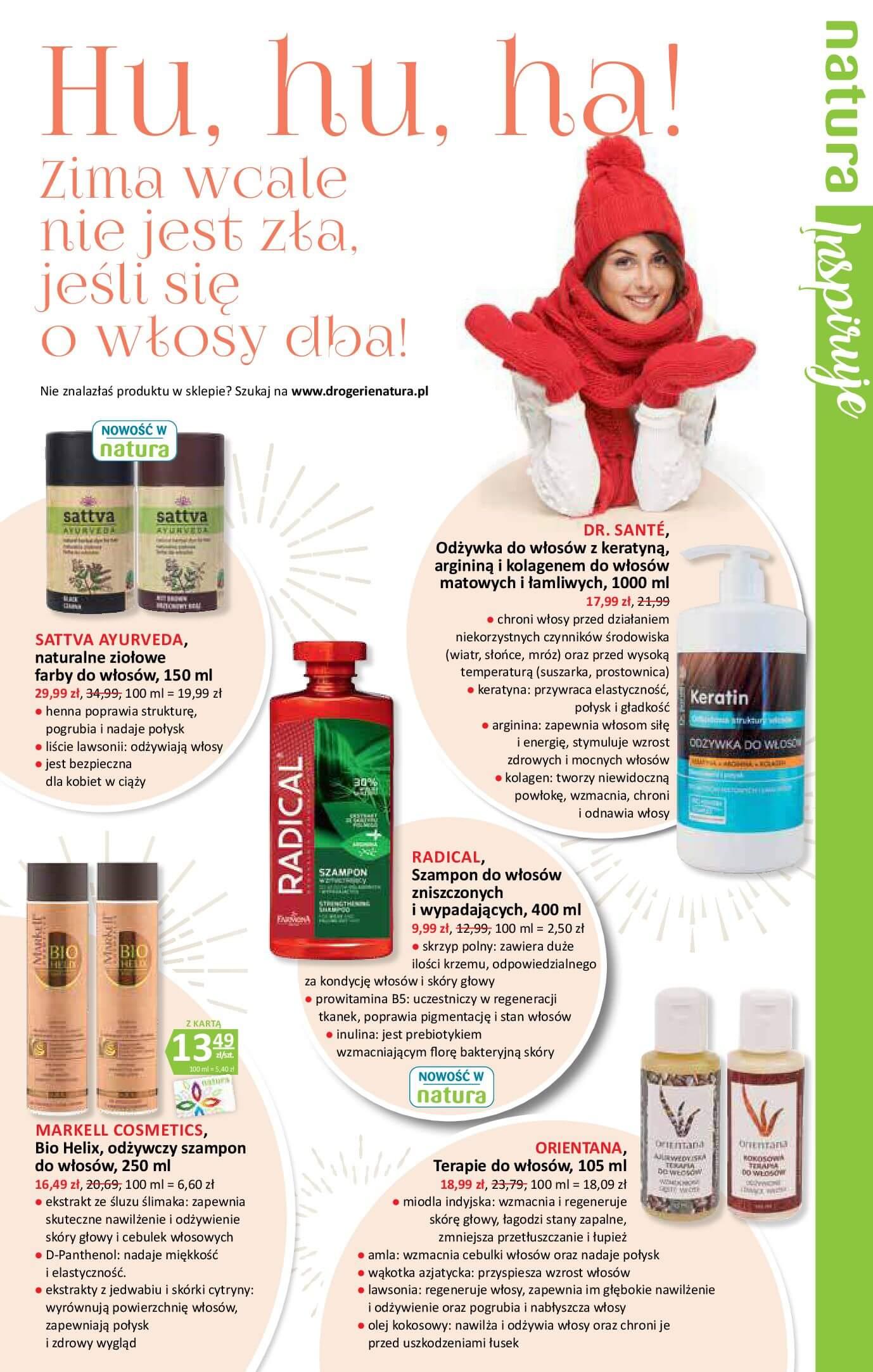 Gazetka Drogerie Natura - Oferta na art. kosmetyczne-14.02.2018-28.02.2018-page-5