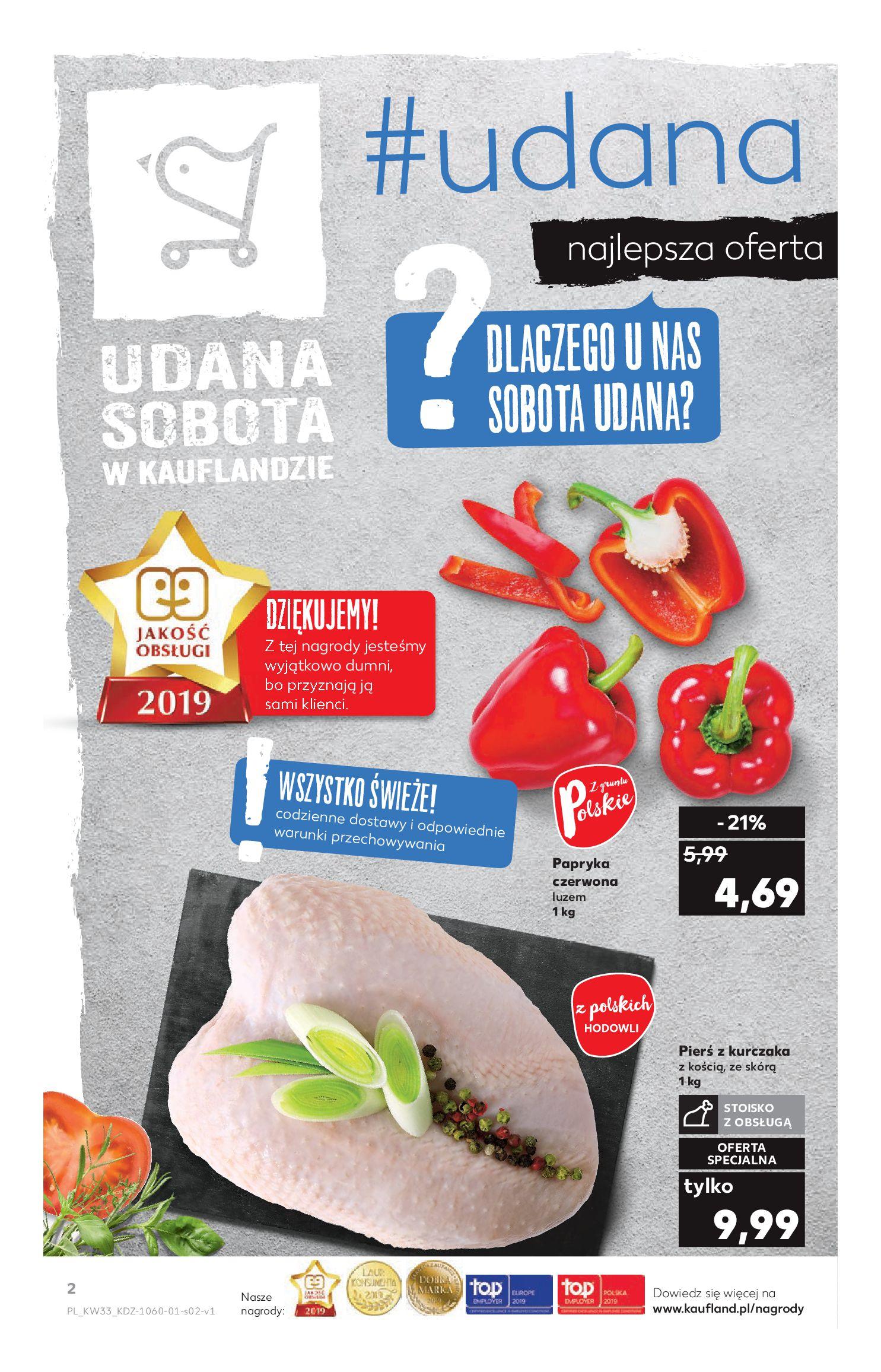 Gazetka Kaufland - Na dobry tydzień-15.08.2019-21.08.2019-page-2