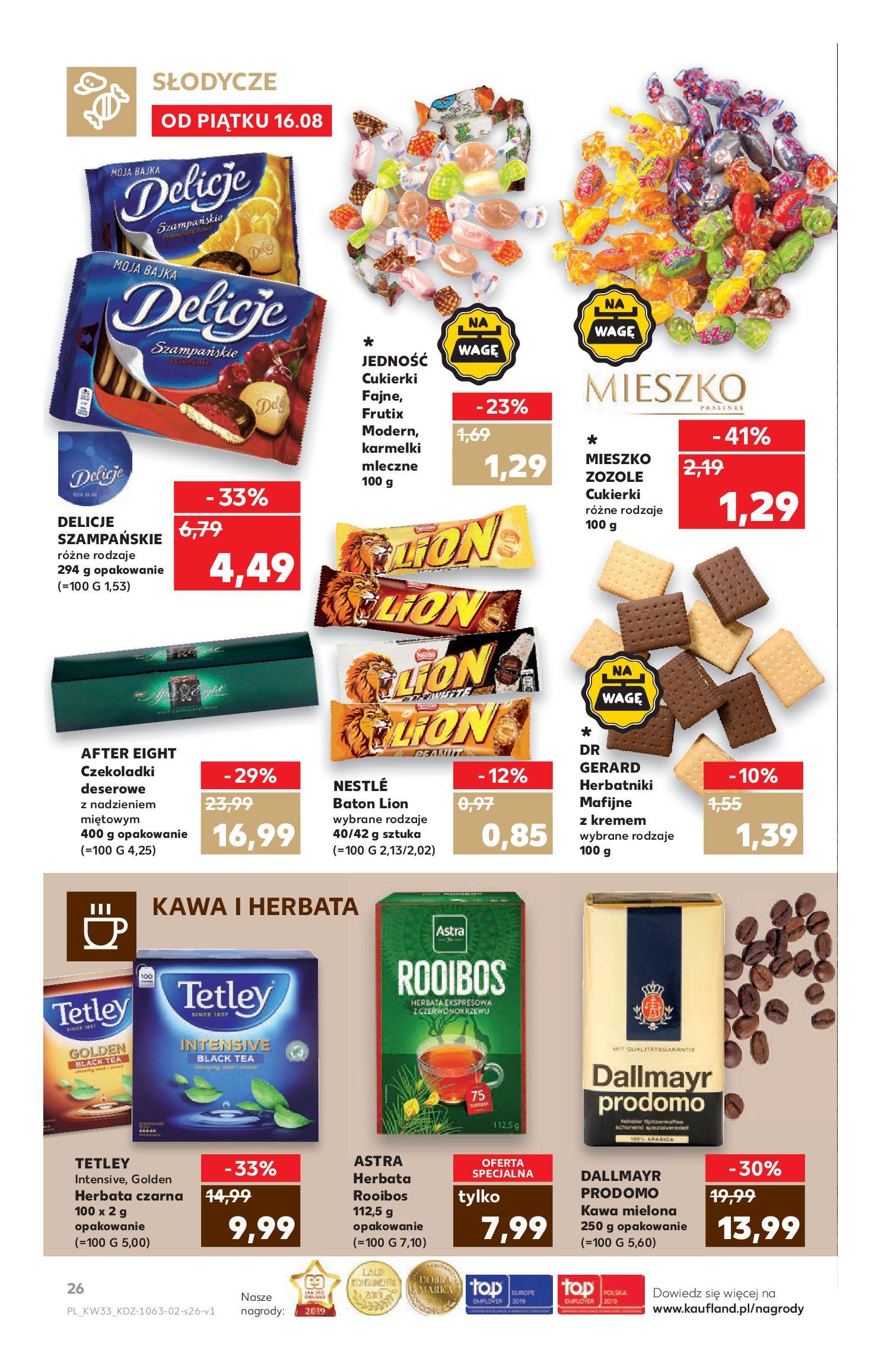 Gazetka Kaufland - Na dobry tydzień-15.08.2019-21.08.2019-page-26