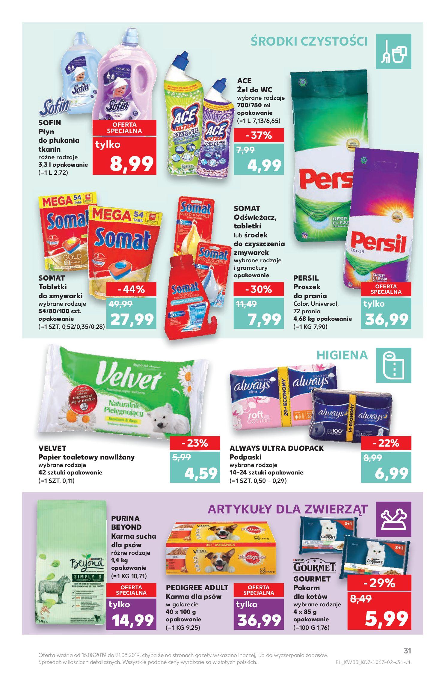 Gazetka Kaufland - Na dobry tydzień-15.08.2019-21.08.2019-page-31