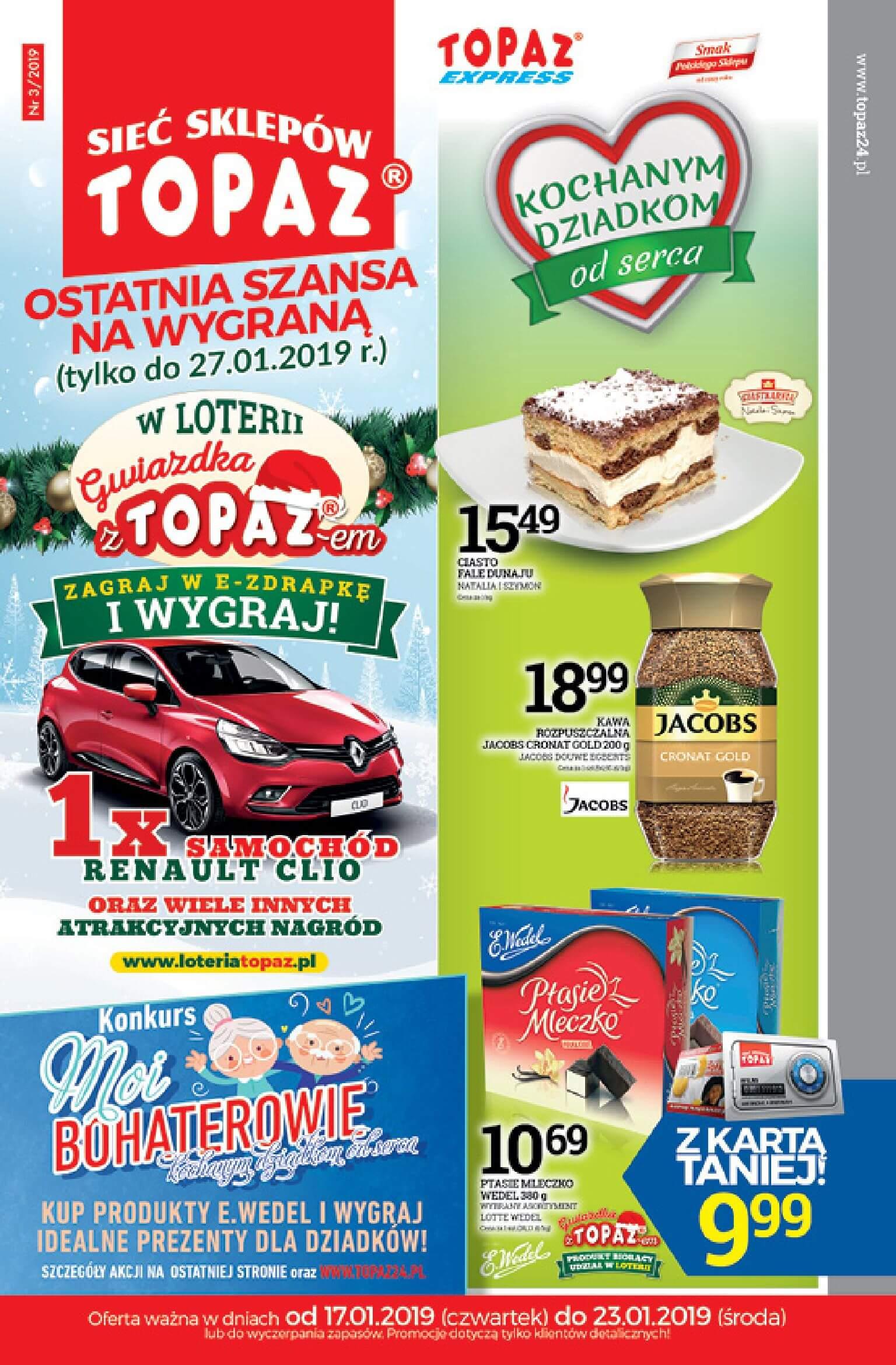 Gazetka TOPAZ - Aktualna gazetka-16.01.2019-23.01.2019-page-