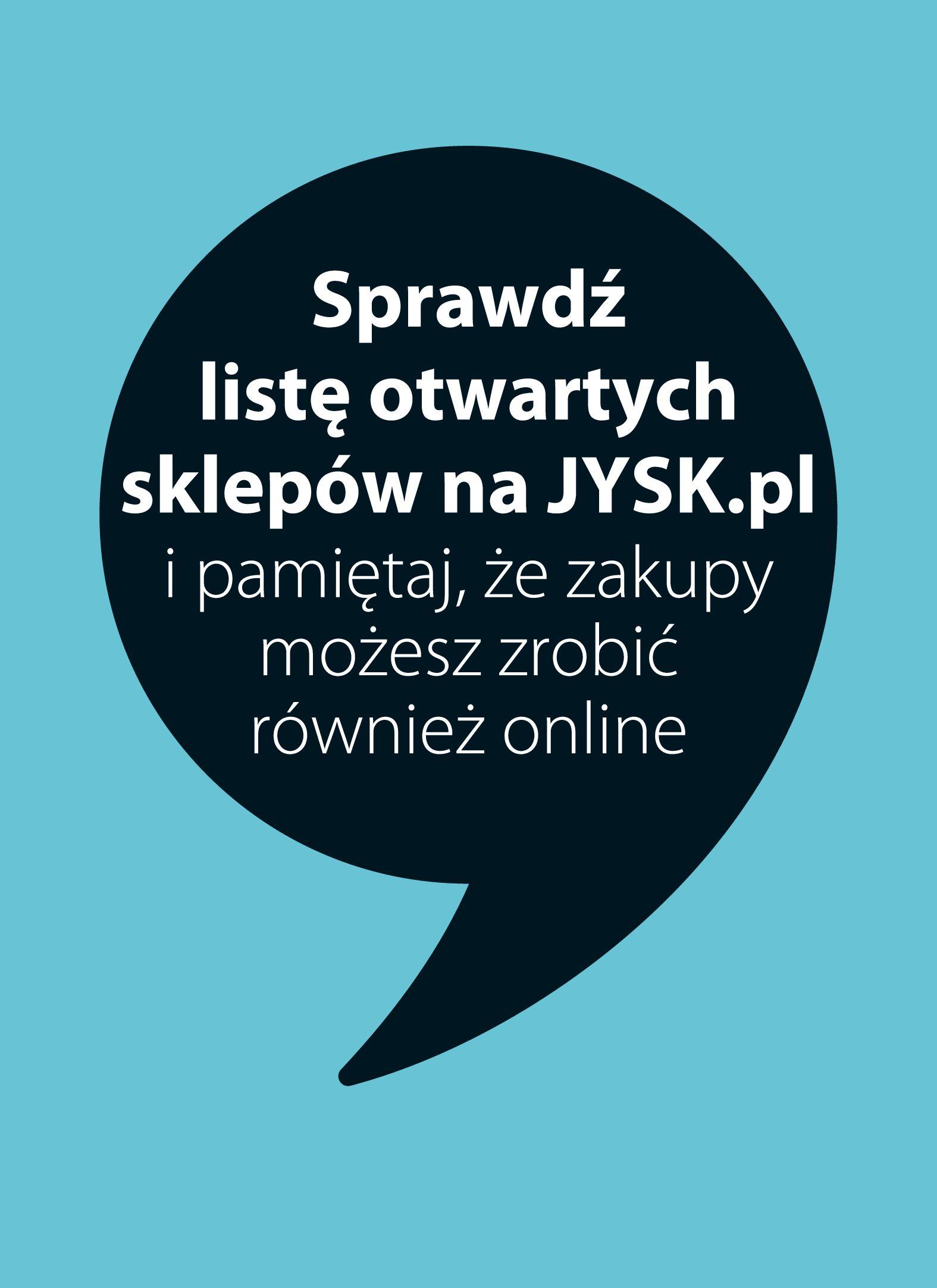Jysk:  Gazetka promocyjna od 14.04 13.04.2021