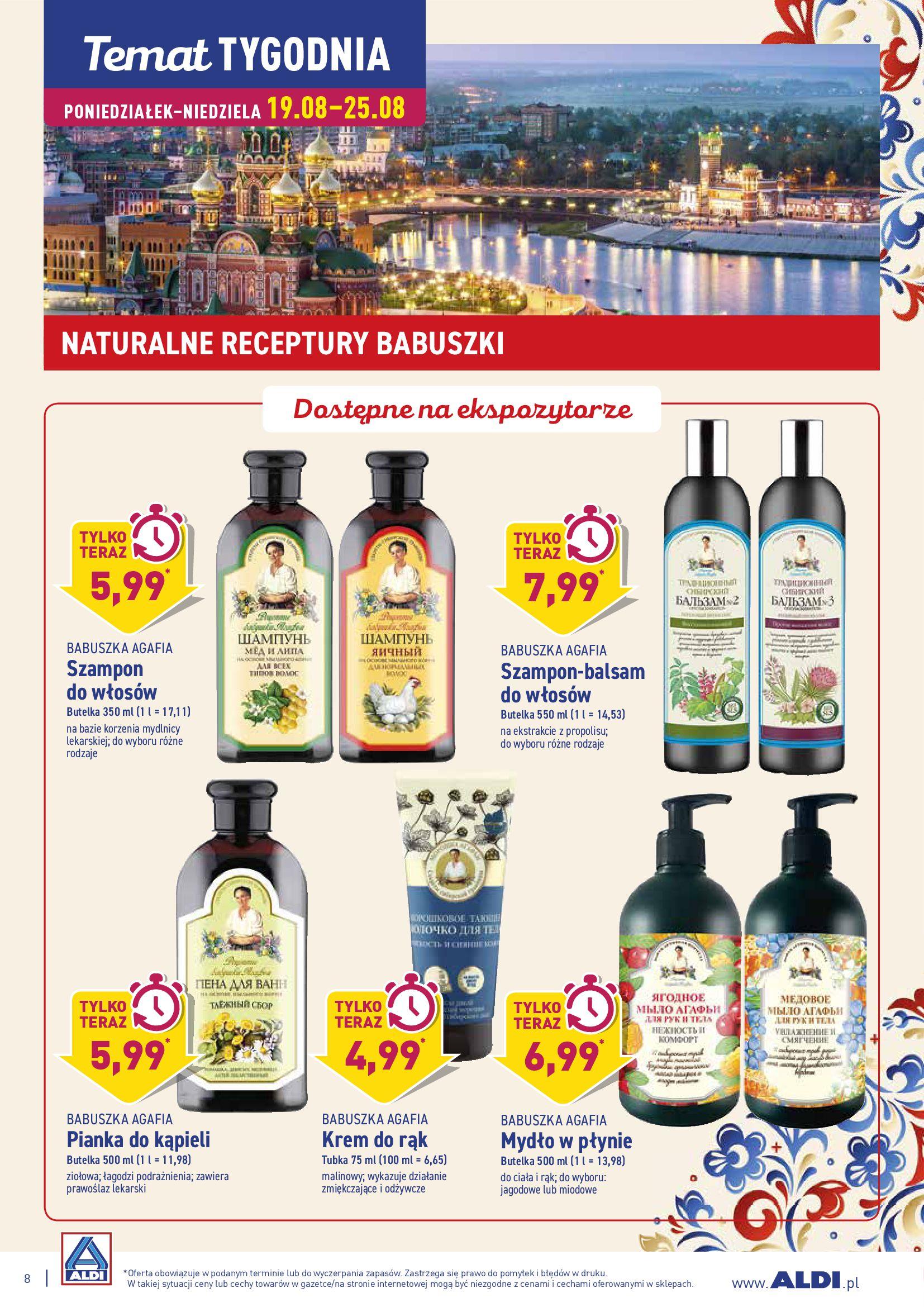 Gazetka Aldi - TYDZIEŃ EUROPY WSCHODNIEJ-18.08.2019-25.08.2019-page-8