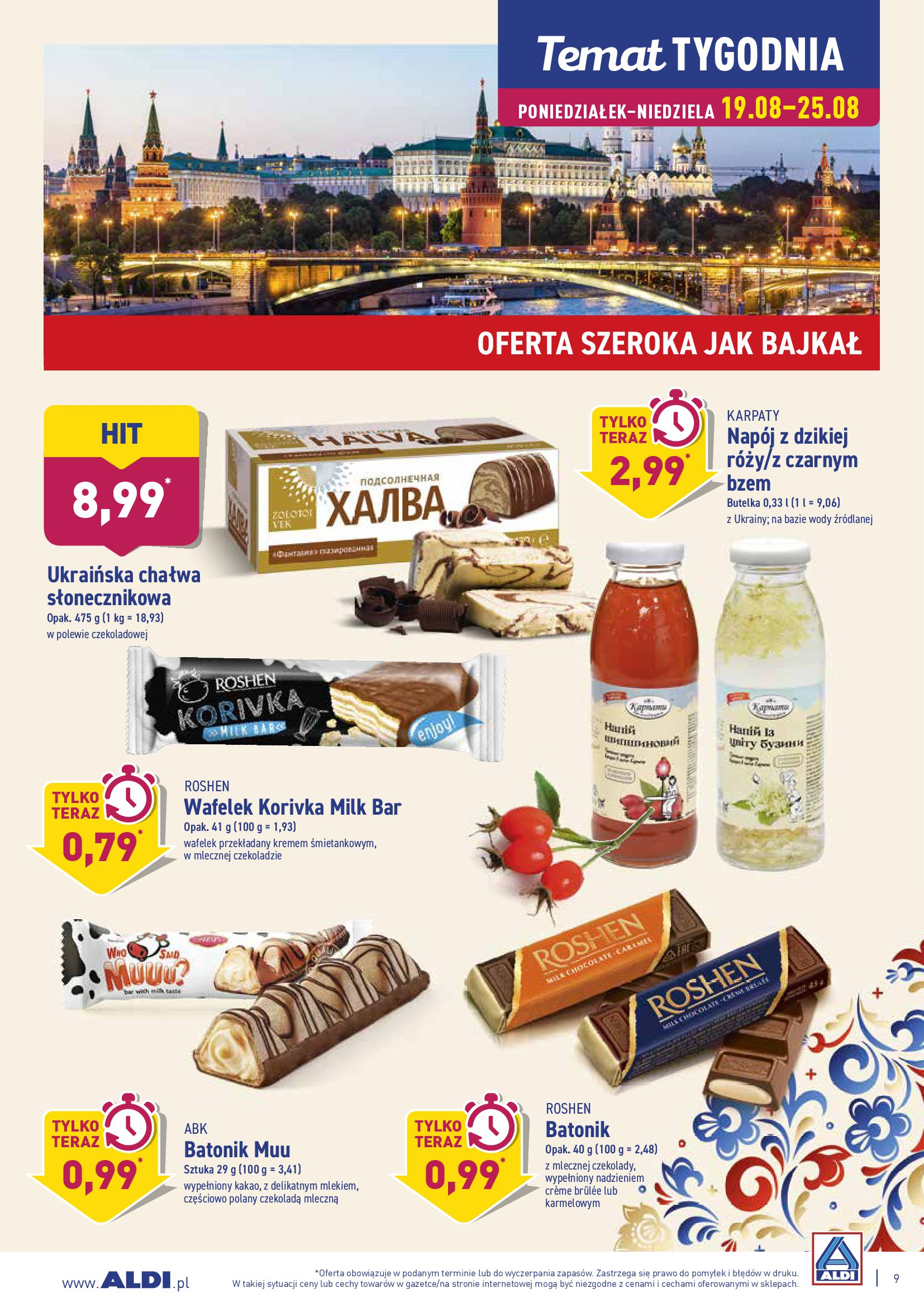 Gazetka Aldi - TYDZIEŃ EUROPY WSCHODNIEJ-18.08.2019-25.08.2019-page-9