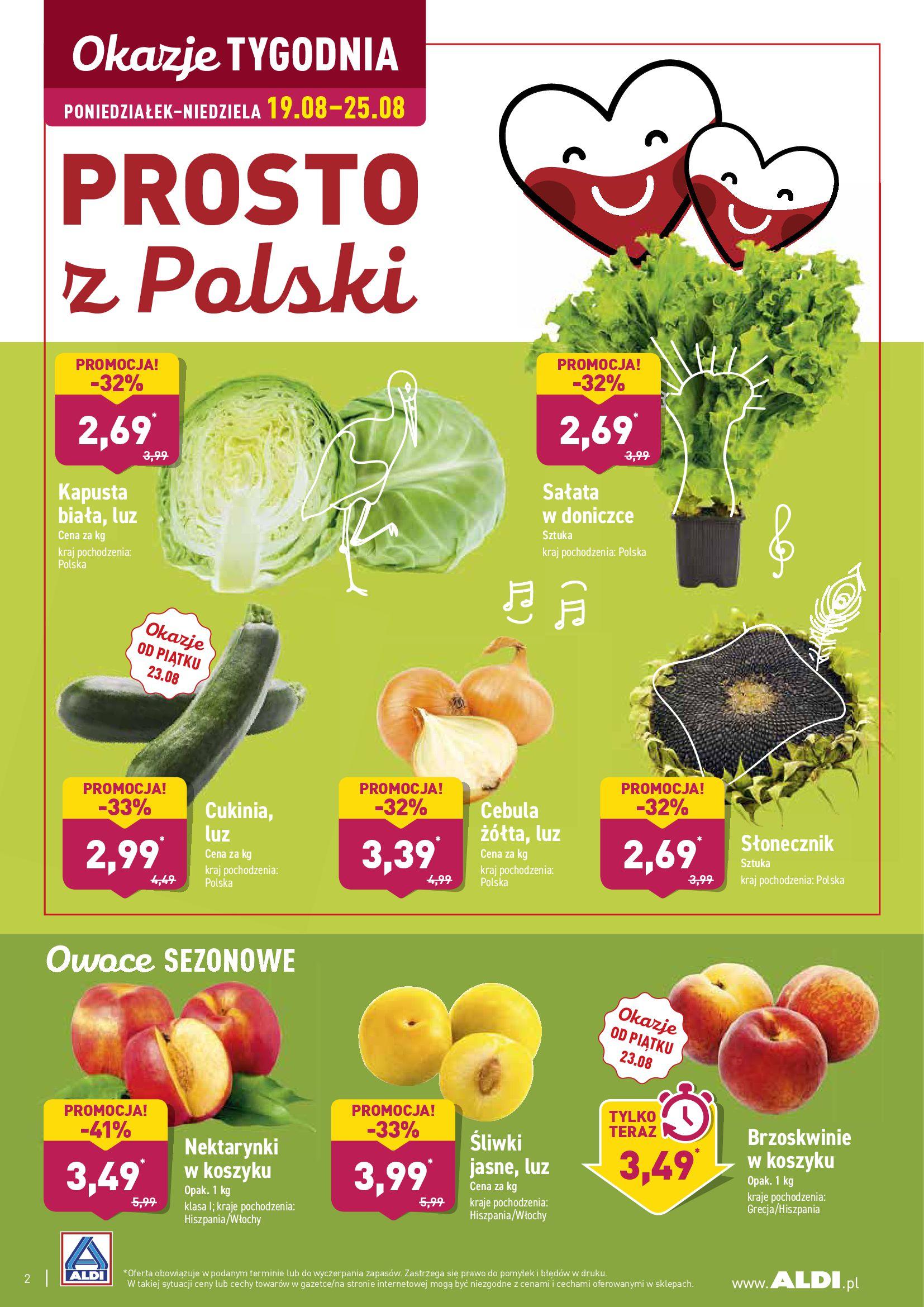 Gazetka Aldi - TYDZIEŃ EUROPY WSCHODNIEJ-18.08.2019-25.08.2019-page-2