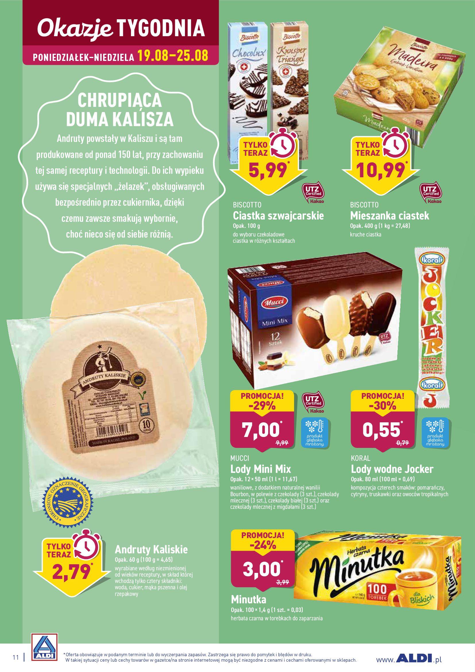 Gazetka Aldi - TYDZIEŃ EUROPY WSCHODNIEJ-18.08.2019-25.08.2019-page-11