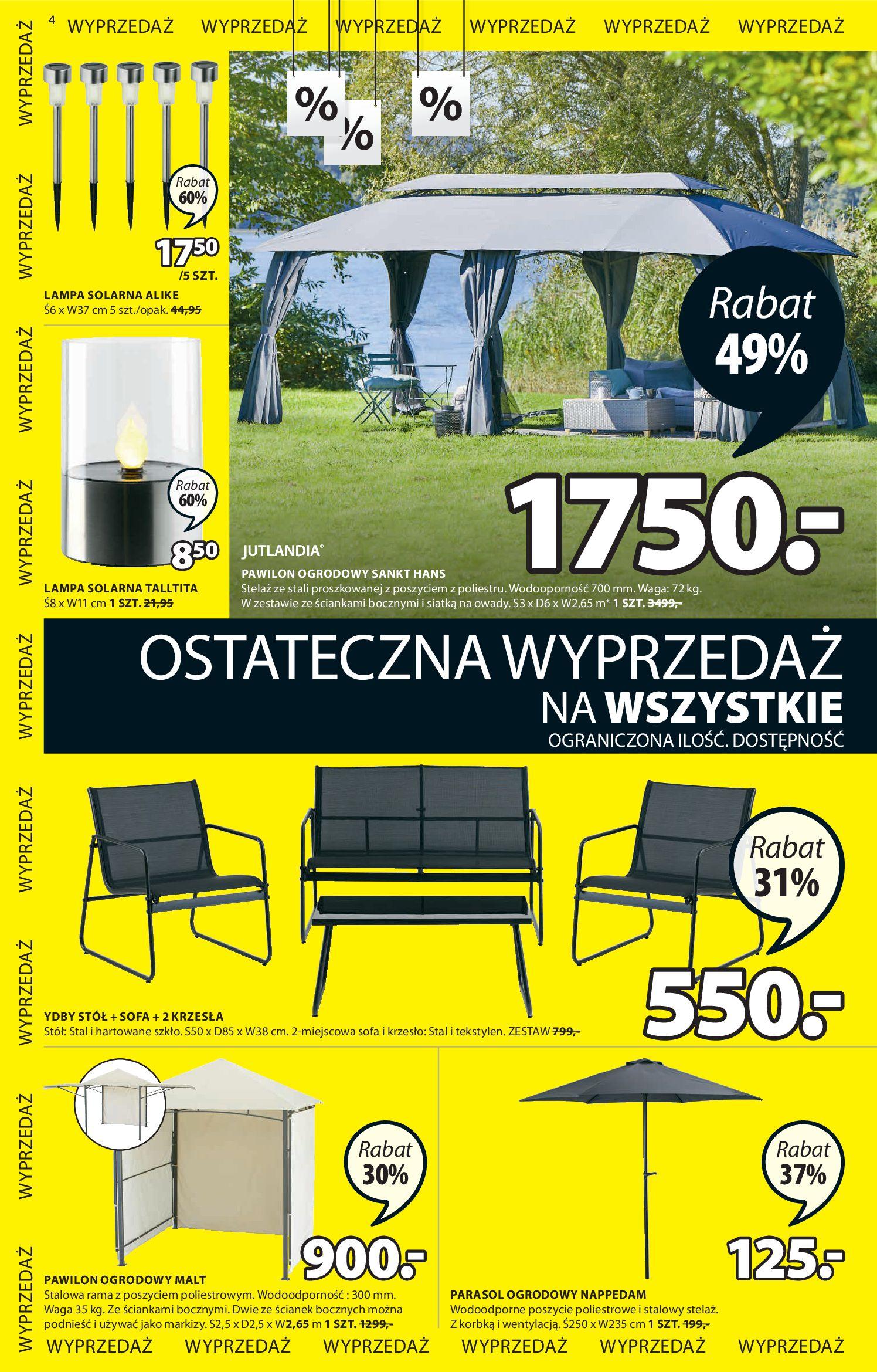 Gazetka Jysk - Oferta tygodnia-29.07.2020-12.08.2020-page-5
