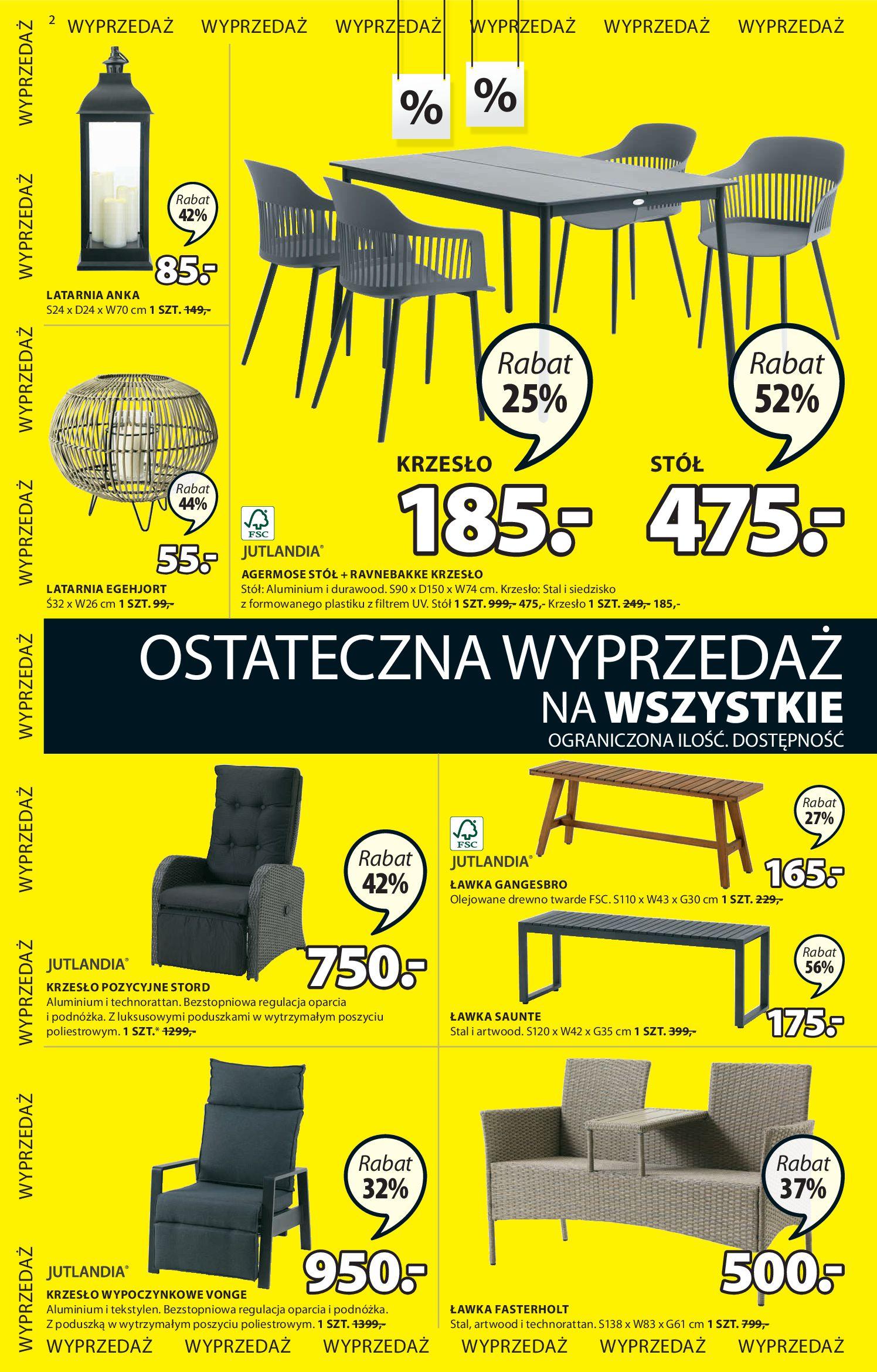 Gazetka Jysk - Oferta tygodnia-29.07.2020-12.08.2020-page-3