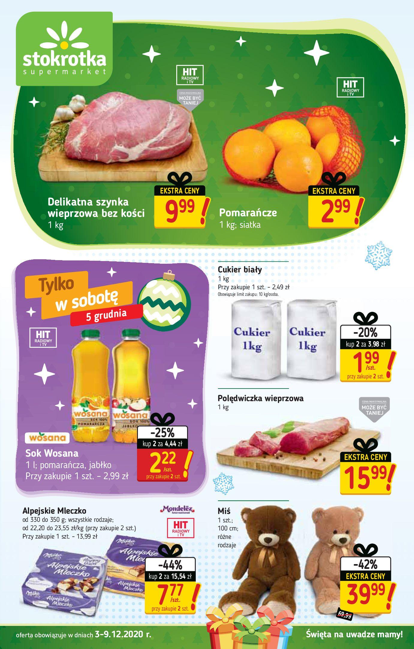 Stokrotka Supermarket:  Oferta handlowa 02.12.2020