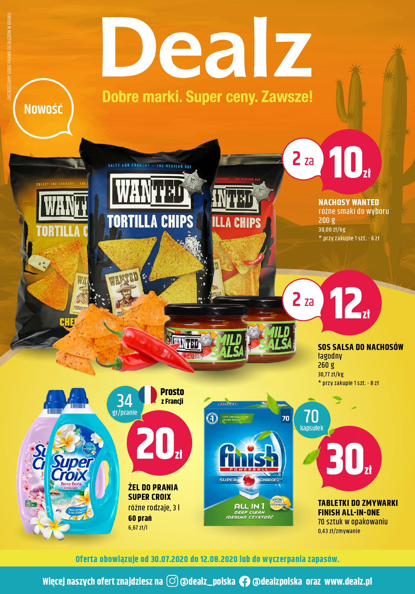 Gazetka Dealz  - Oferta handlowa-29.07.2020-12.08.2020-page-1