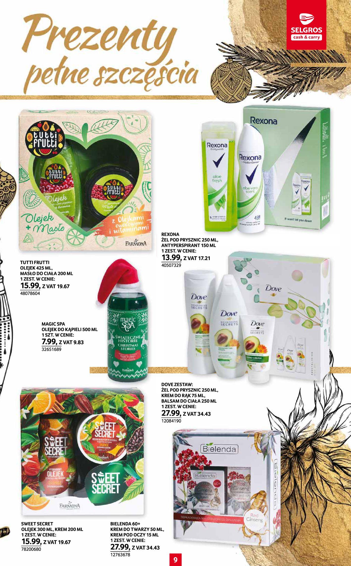 Gazetka Selgros: Katalog Prezenty 2020-11-19 page-9