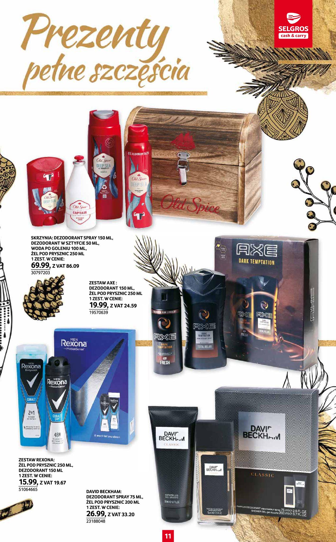 Gazetka Selgros: Katalog Prezenty 2020-11-19 page-11