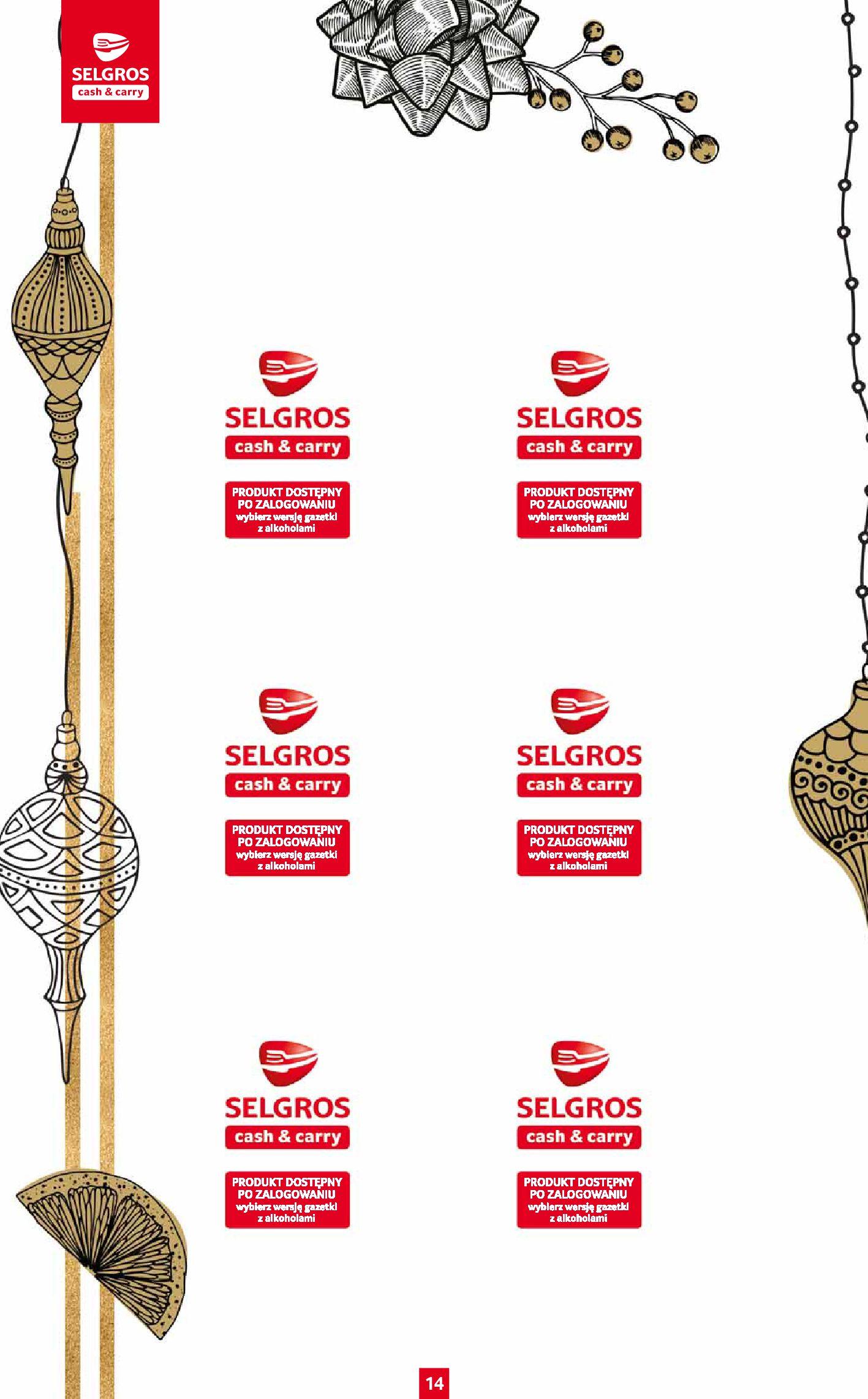 Gazetka Selgros: Katalog Prezenty 2020-11-19 page-14