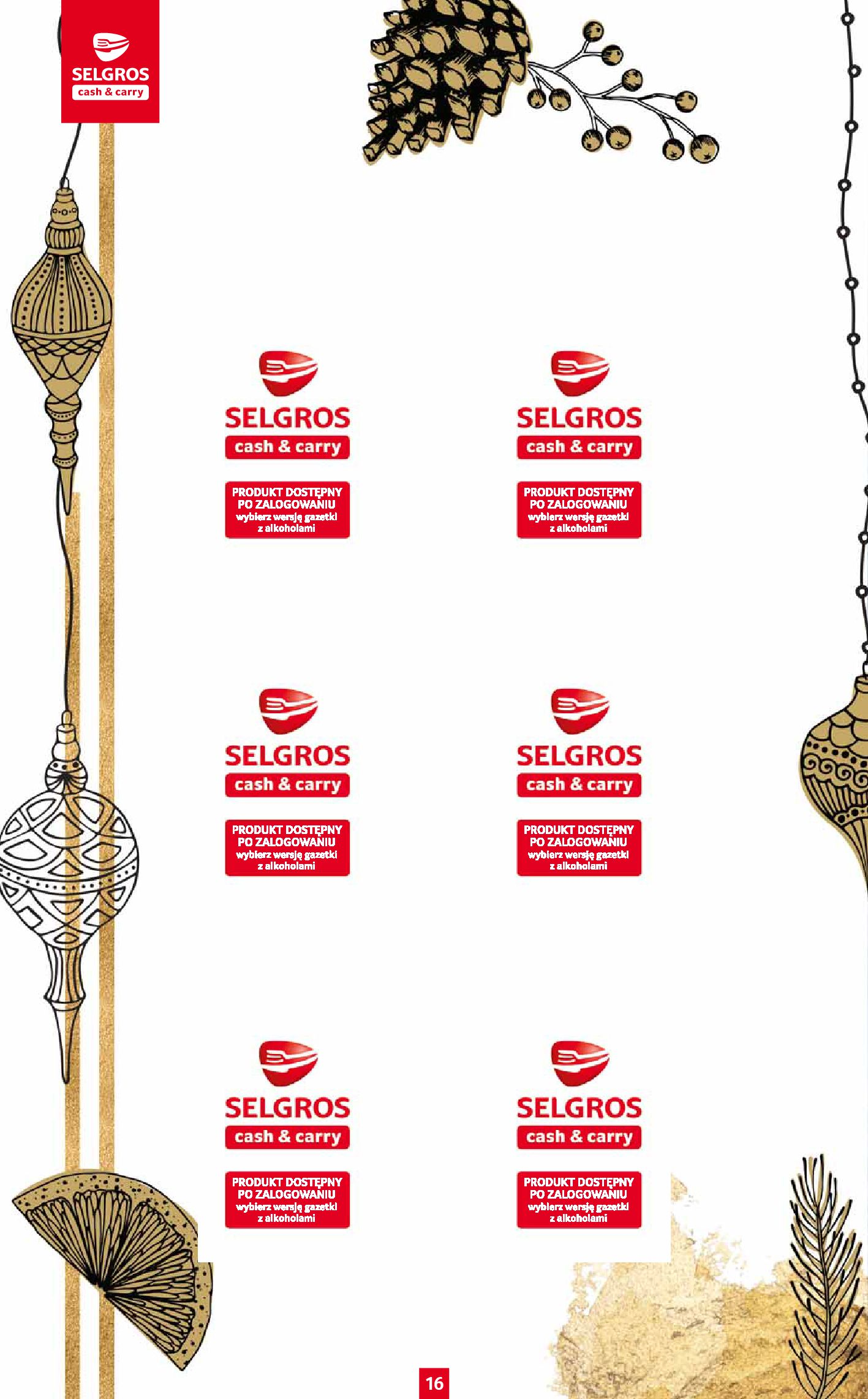 Gazetka Selgros: Katalog Prezenty 2020-11-19 page-16