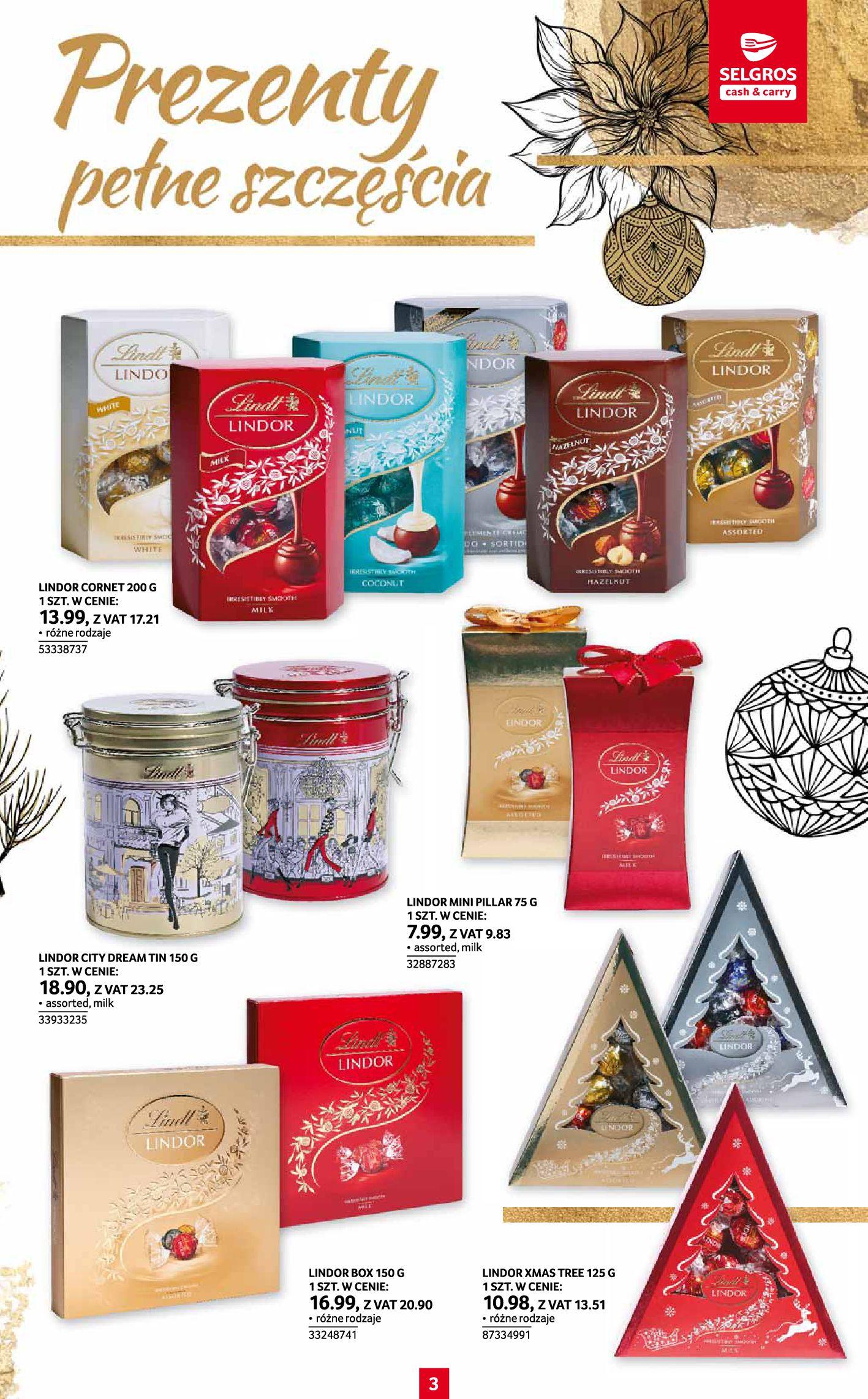 Gazetka Selgros: Katalog Prezenty 2020-11-19 page-3