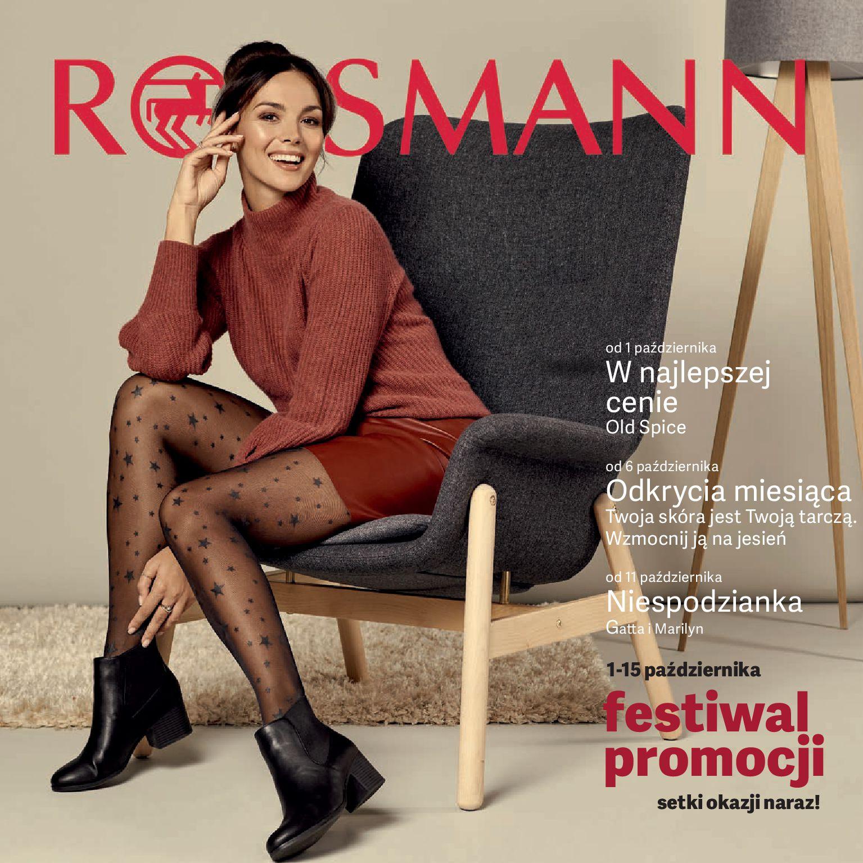 Gazetka Rossmann - Oferta promocyjna-30.09.2019-15.10.2019-page-1