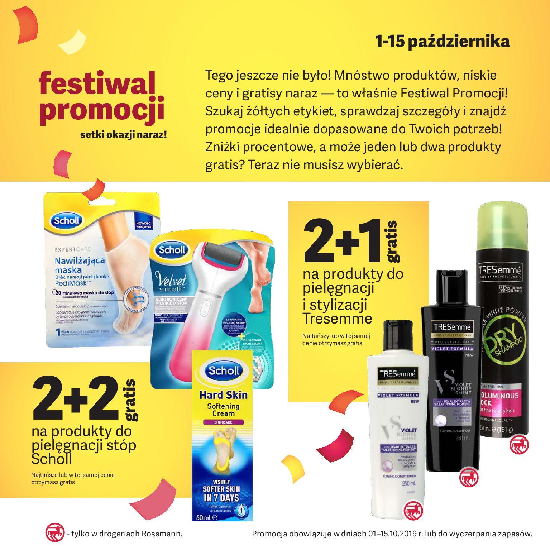 Gazetka Rossmann - Oferta promocyjna-30.09.2019-15.10.2019-page-2
