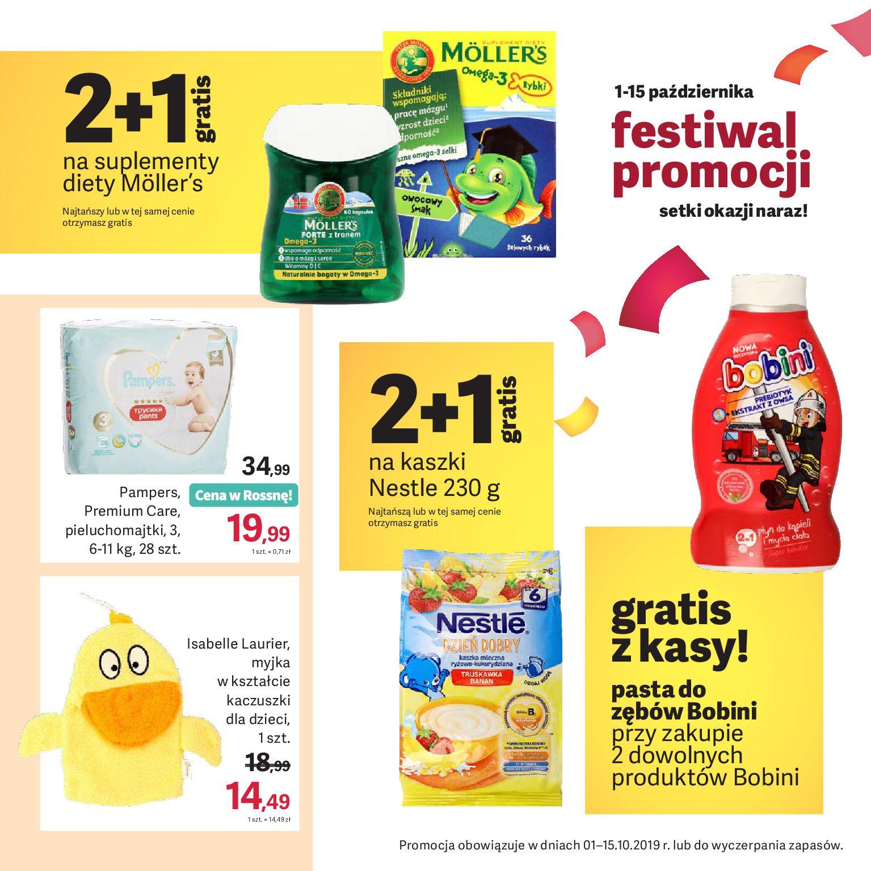 Gazetka Rossmann - Oferta promocyjna-30.09.2019-15.10.2019-page-