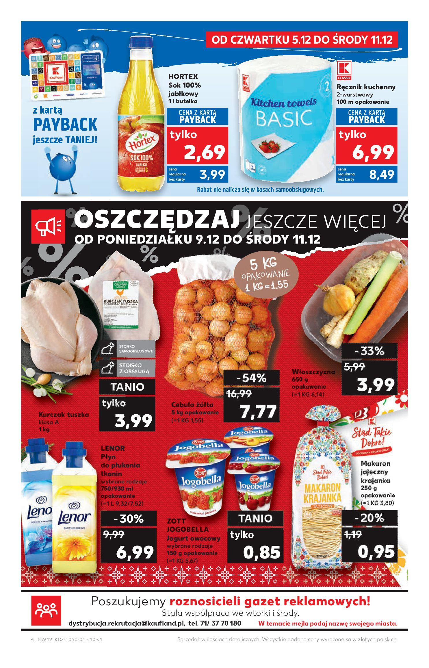 Gazetka Kaufland - Na dobry tydzień-04.12.2019-11.12.2019-page-40