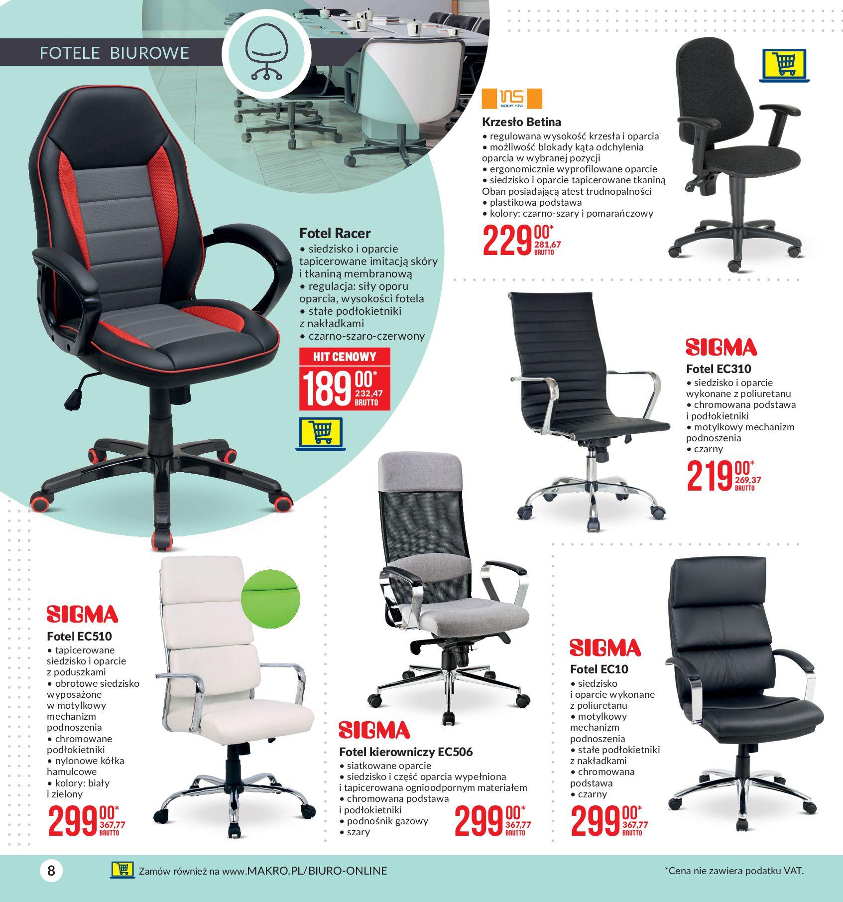 Gazetka Makro: Twoje biuro 2021-01-07 page-8