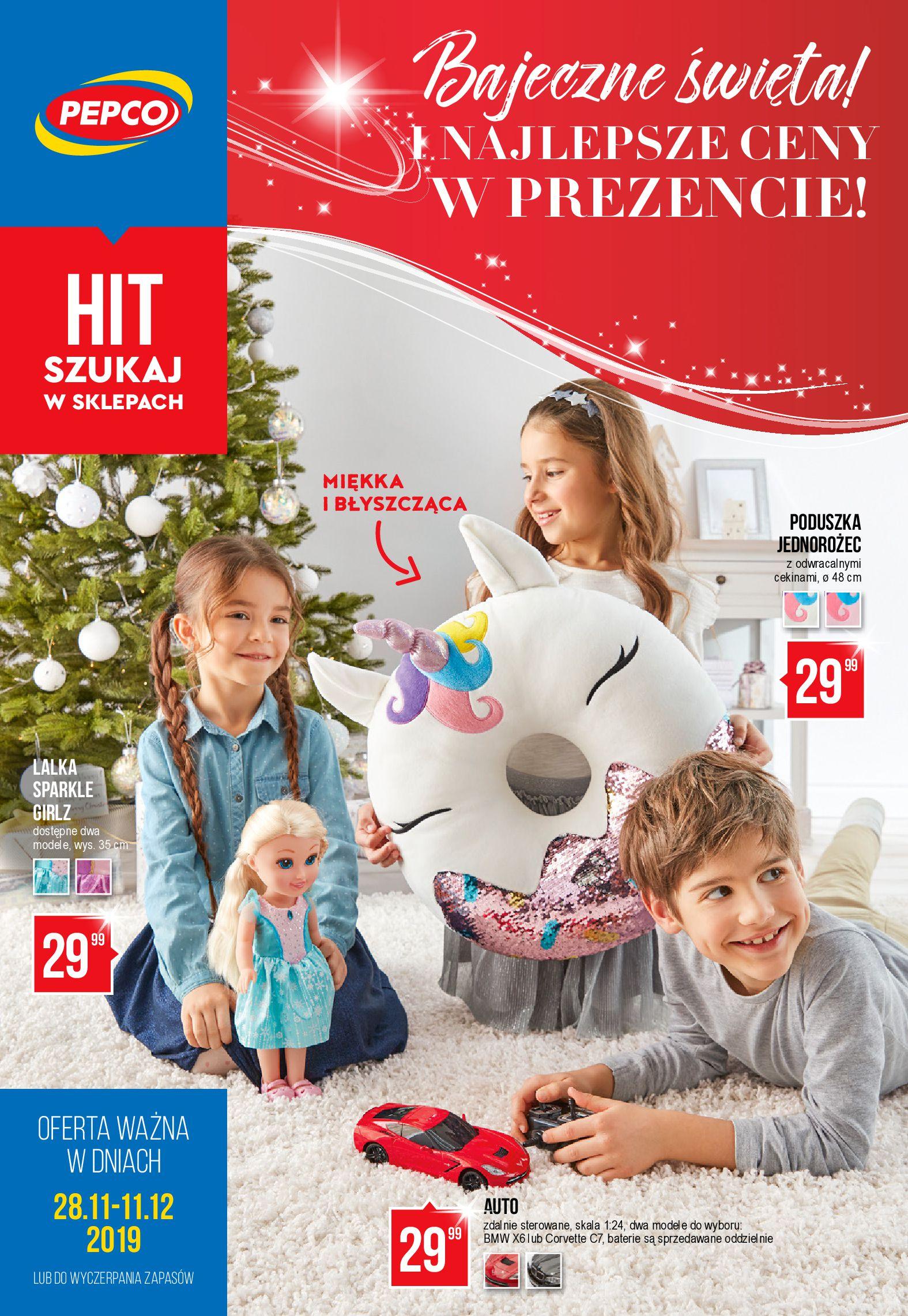 Gazetka Pepco - Bajeczne Święta-27.11.2019-11.12.2019-page-1