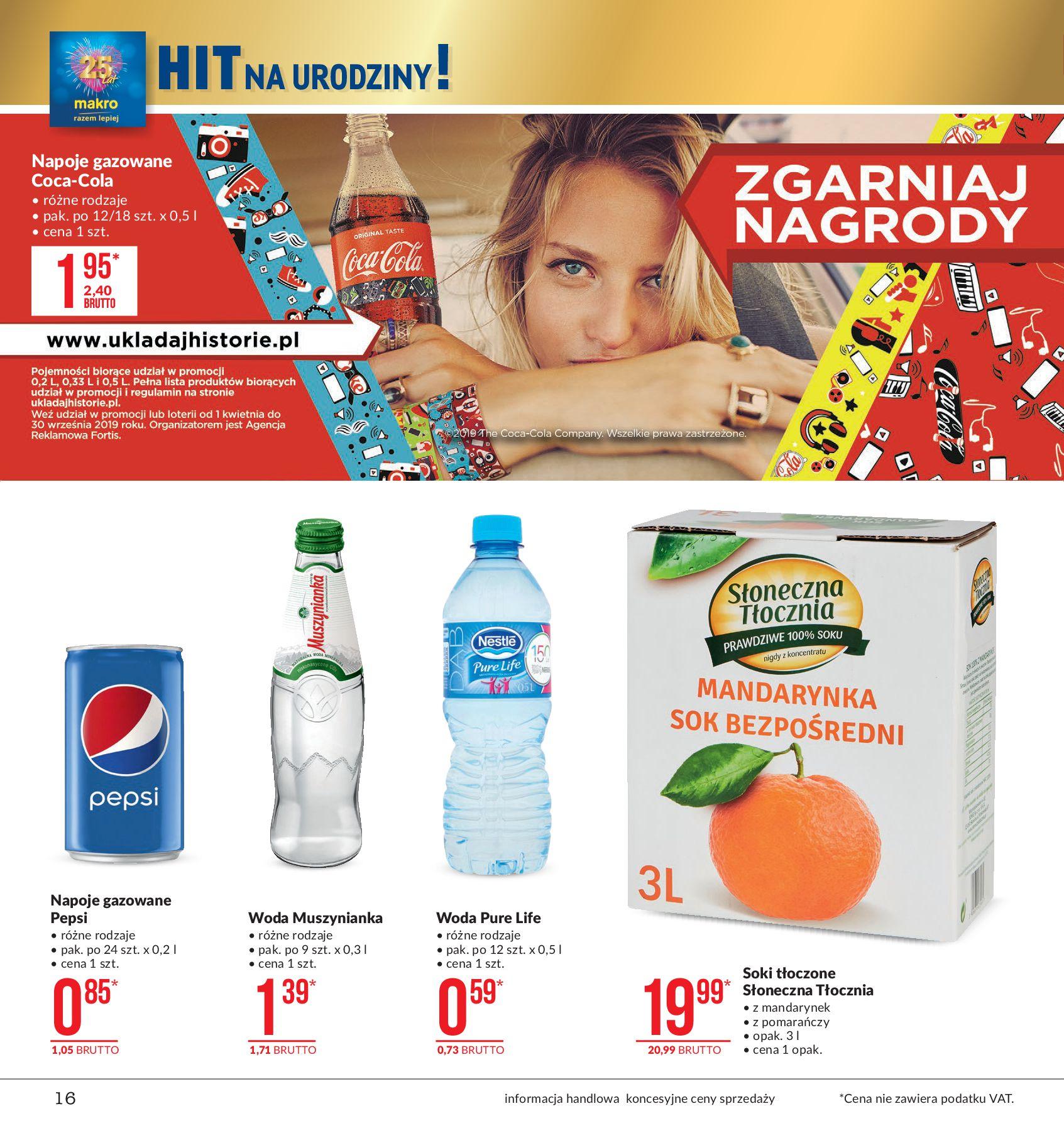 Gazetka Makro - Artykuły spożywcze-12.08.2019-26.08.2019-page-16