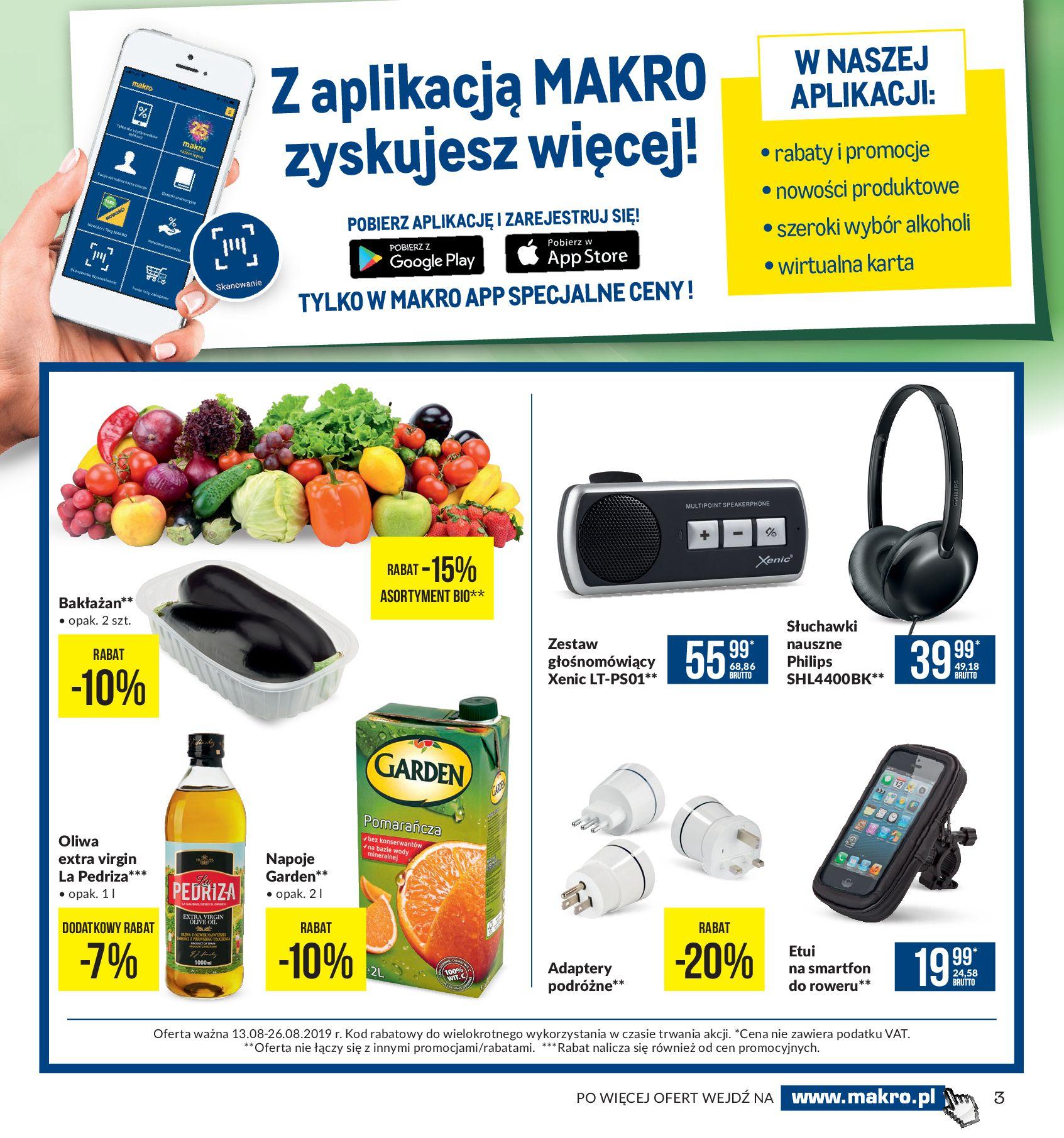 Gazetka Makro - Artykuły spożywcze-12.08.2019-26.08.2019-page-3