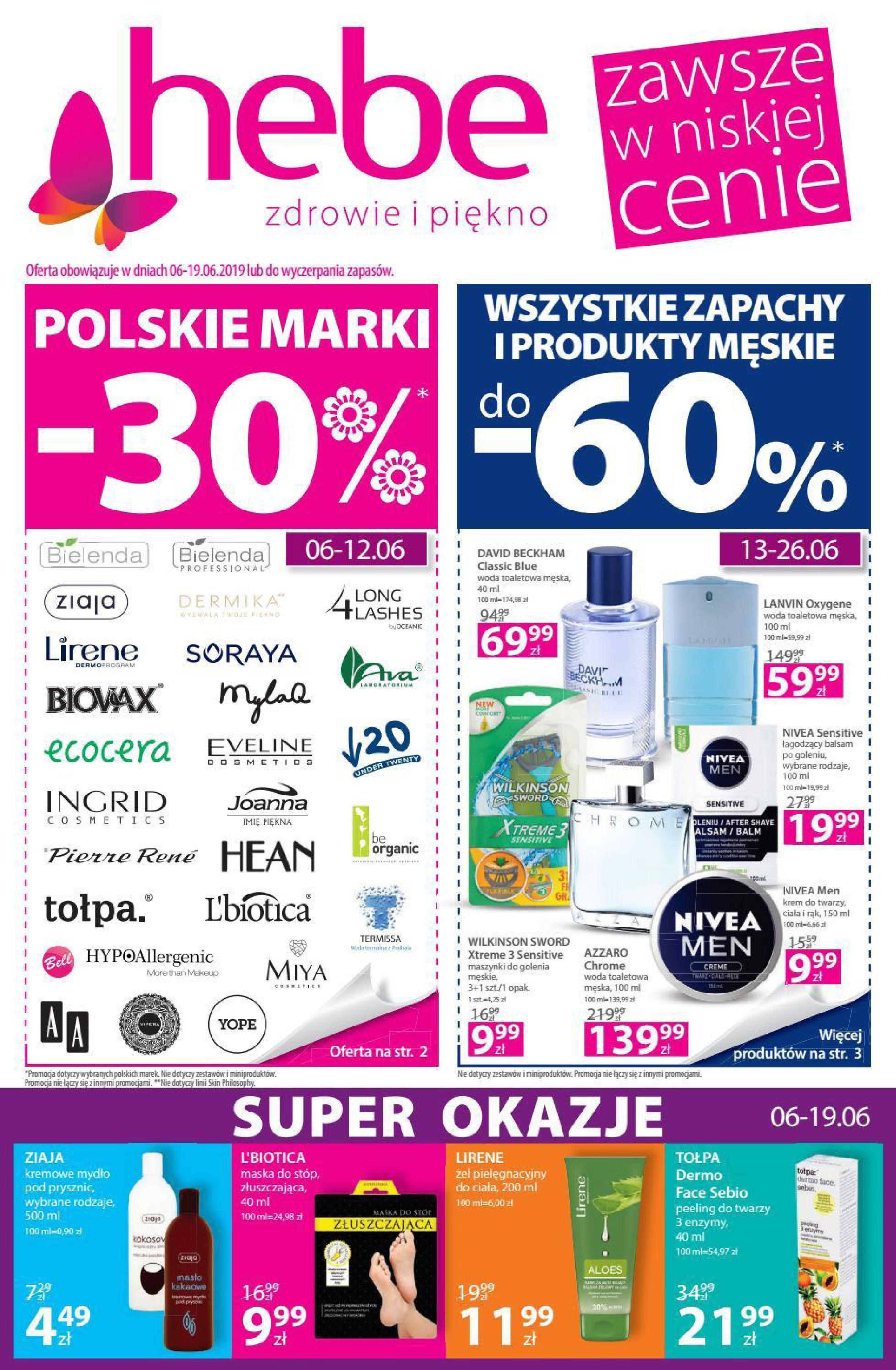 Gazetka hebe - Oferta promocyjna-05.06.2019-19.06.2019-page-