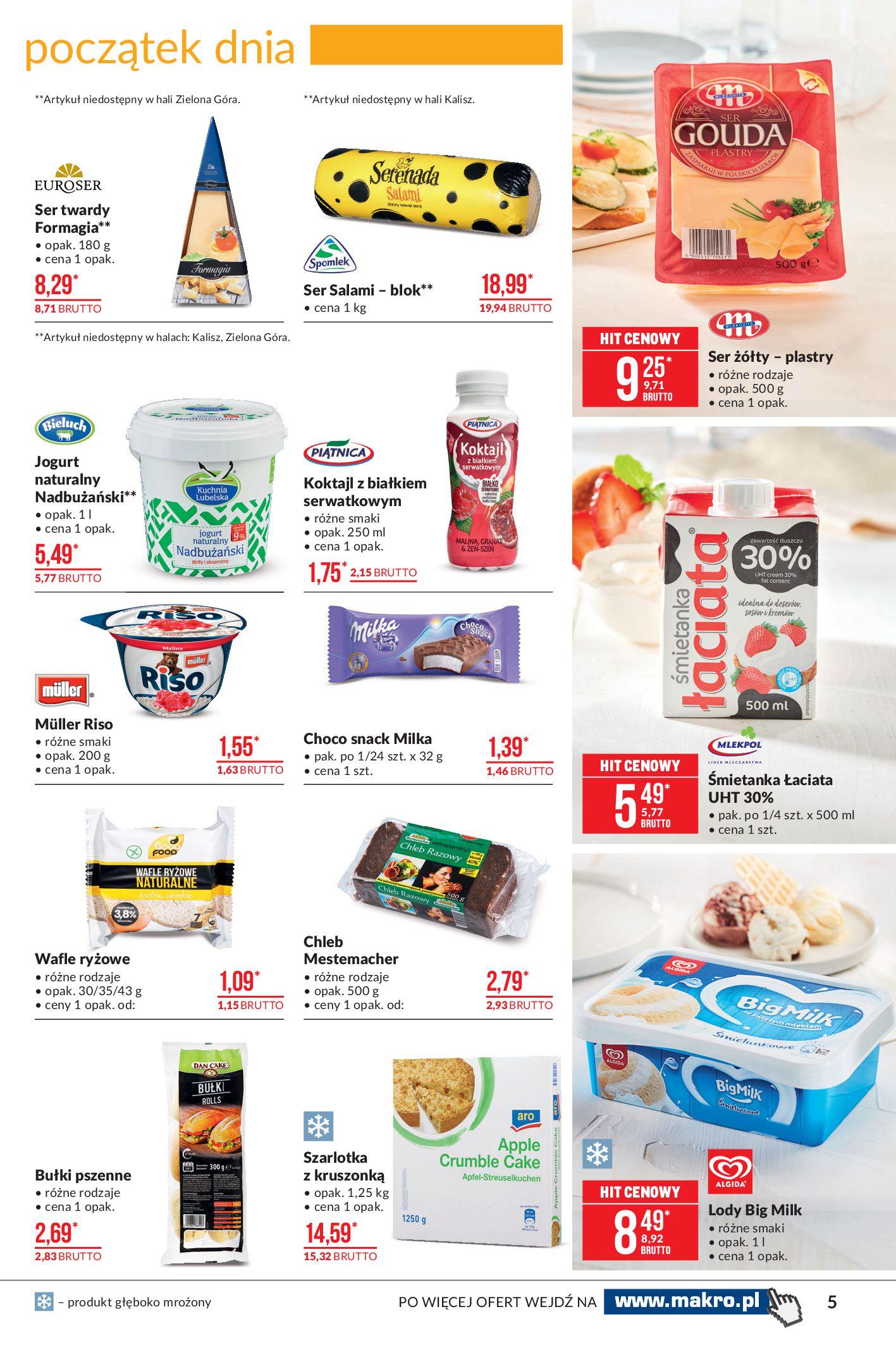 Gazetka Makro: Artykuły spożywcze 2021-02-23 page-5