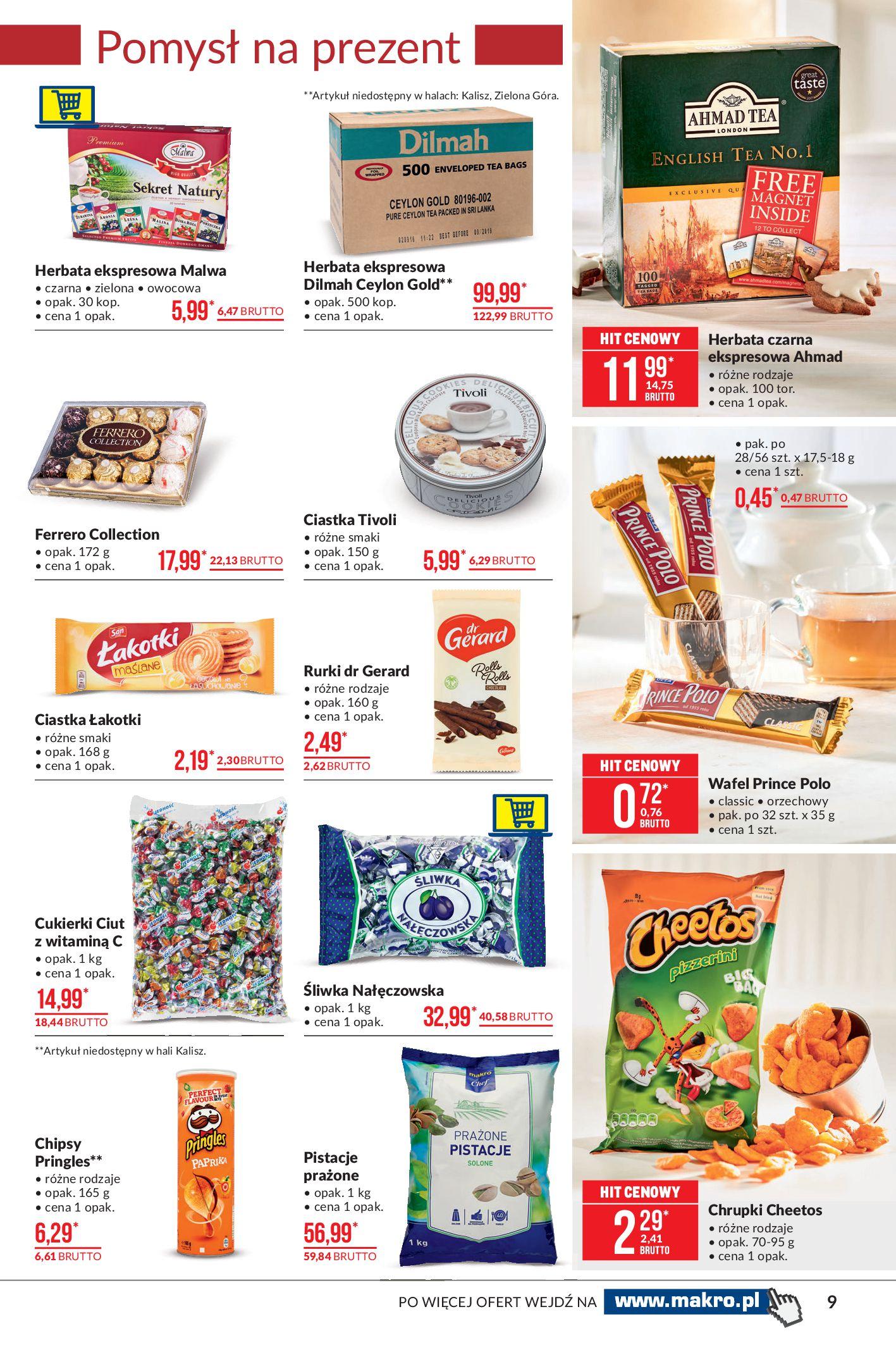 Gazetka Makro: Artykuły spożywcze 2021-02-23 page-9