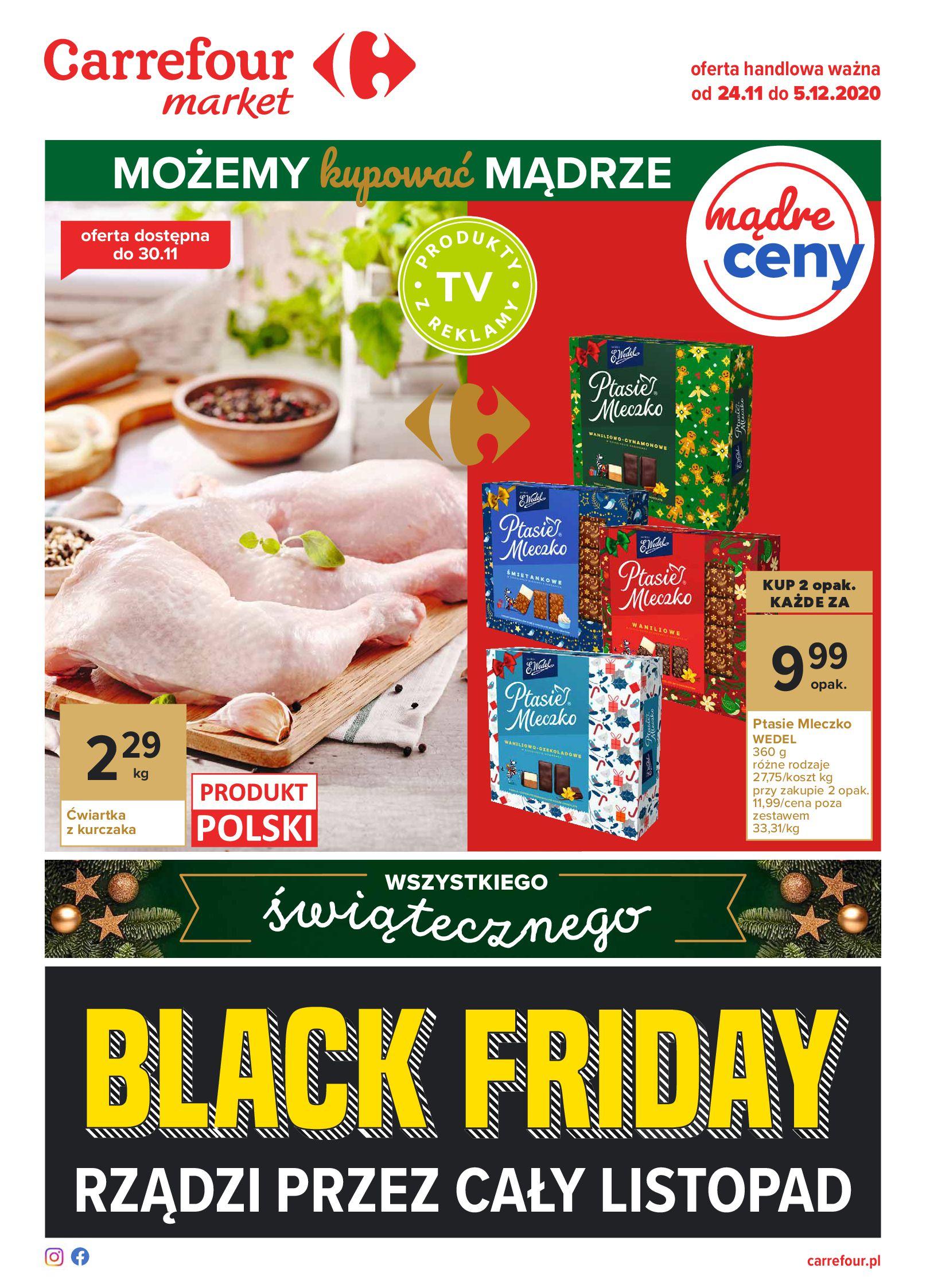 Carrefour Market:  Oferta handlowa 23.11.2020