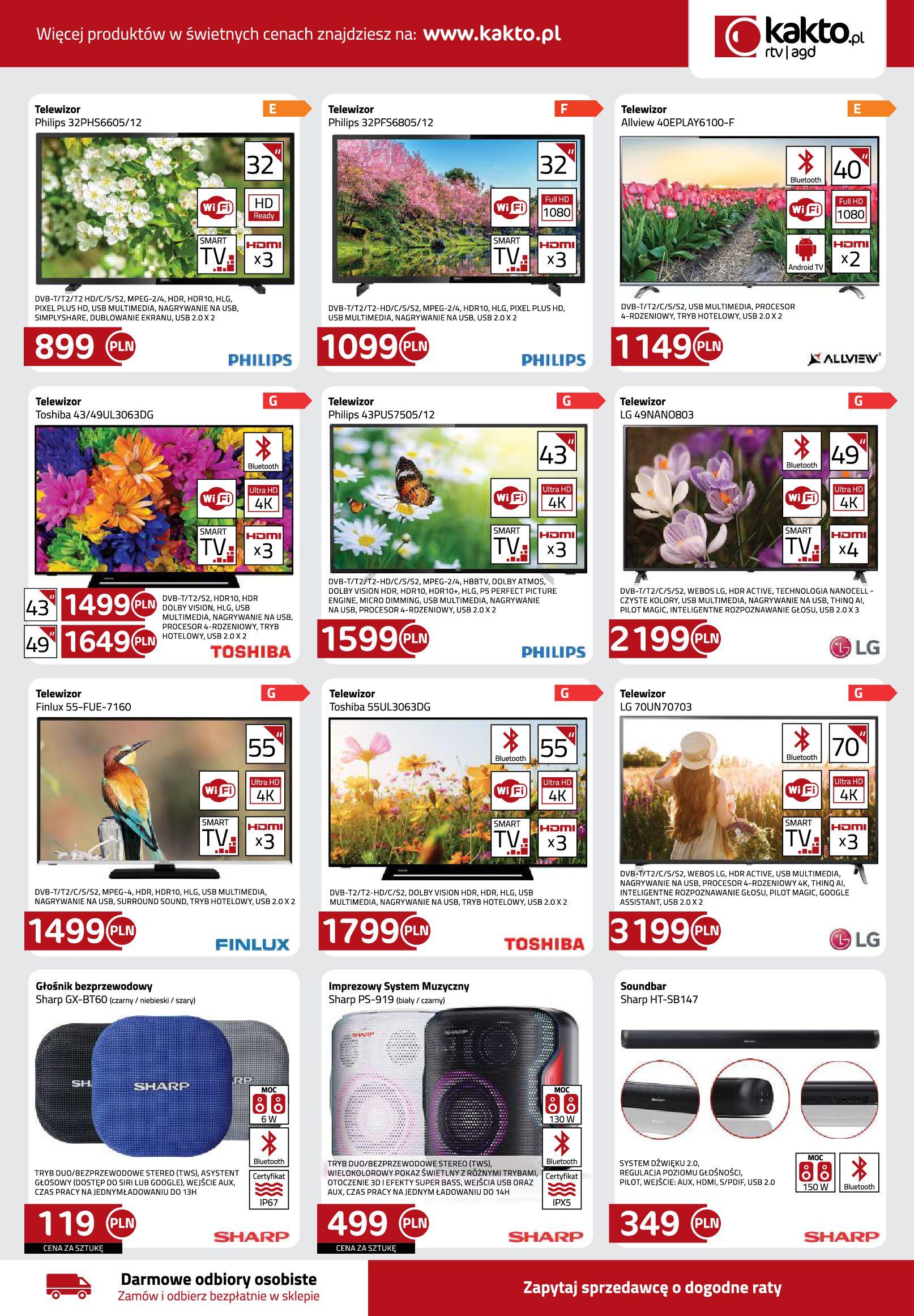 Gazetka kakto.pl: Gazetka Kwiecień 2021-04-09 page-7
