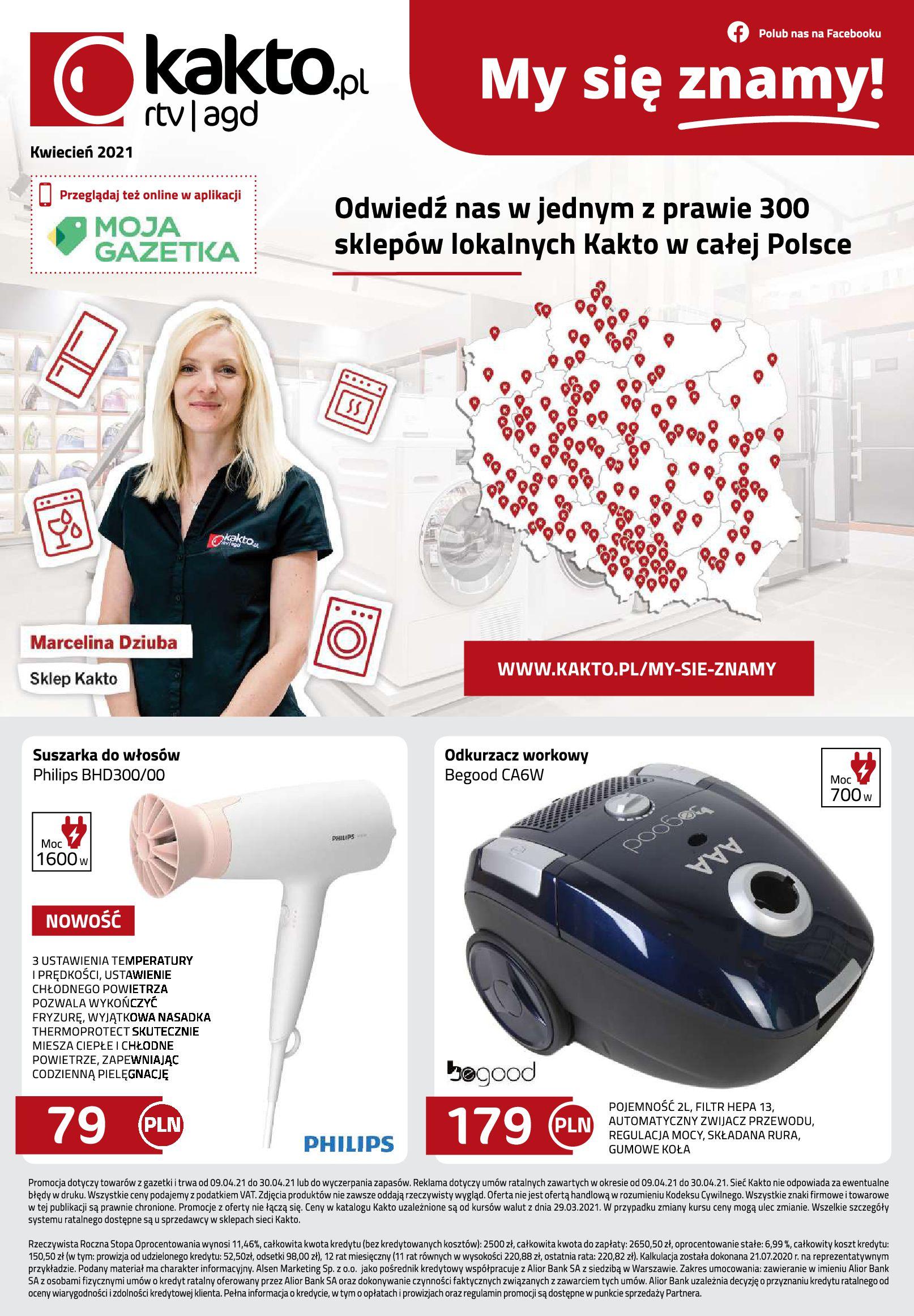 Gazetka kakto.pl: Gazetka Kwiecień 2021-04-09 page-8