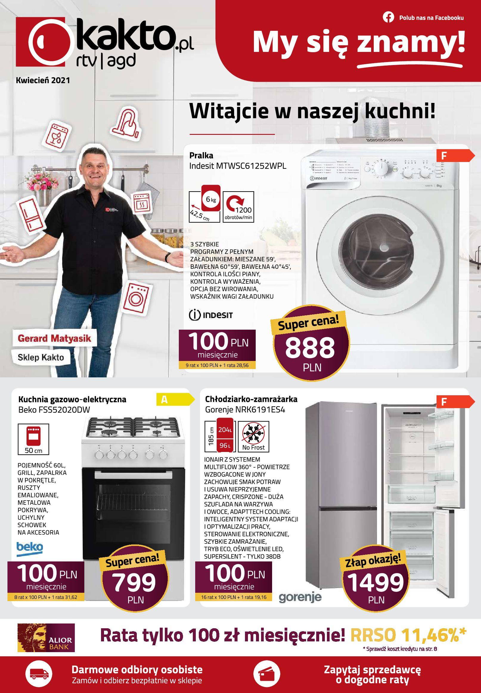 Gazetka kakto.pl: Gazetka Kwiecień 2021-04-09 page-1