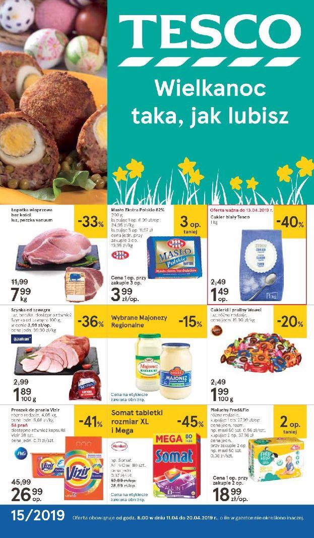 Gazetka Tesco - Oferta na art. spożywcze i kosmetyki-10.04.2019-20.04.2019-page-