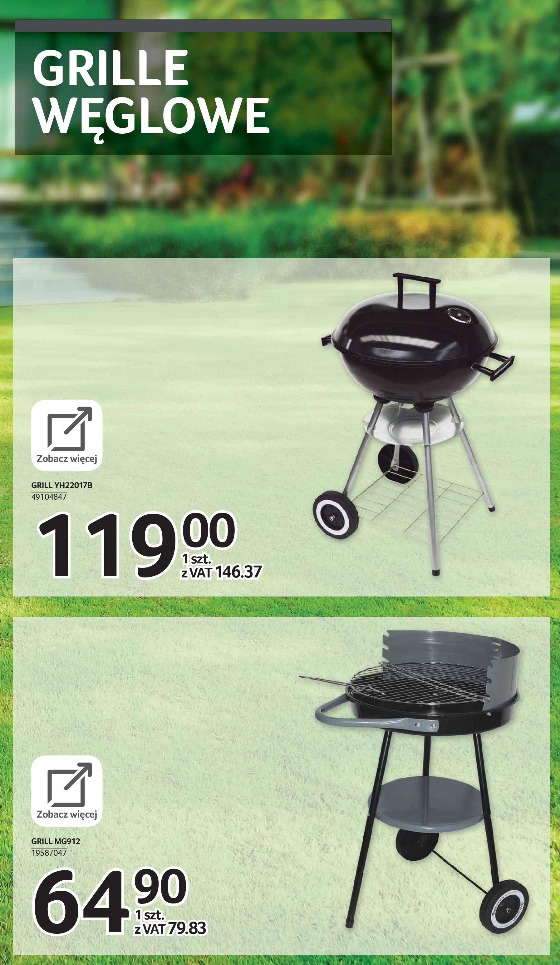 Gazetka Selgros: Katalog Grill i Wypoczynek 2021-04-07 page-50