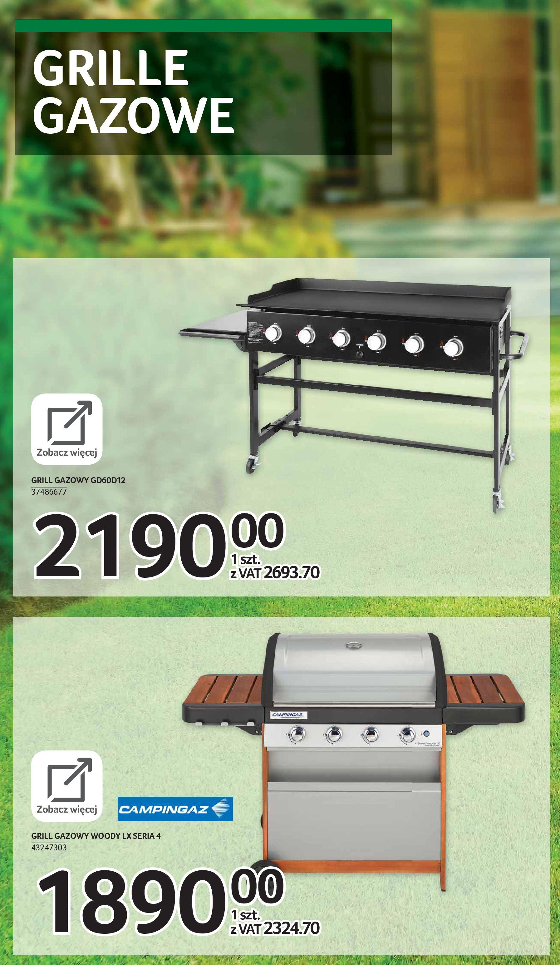 Gazetka Selgros: Katalog Grill i Wypoczynek 2021-04-07 page-37