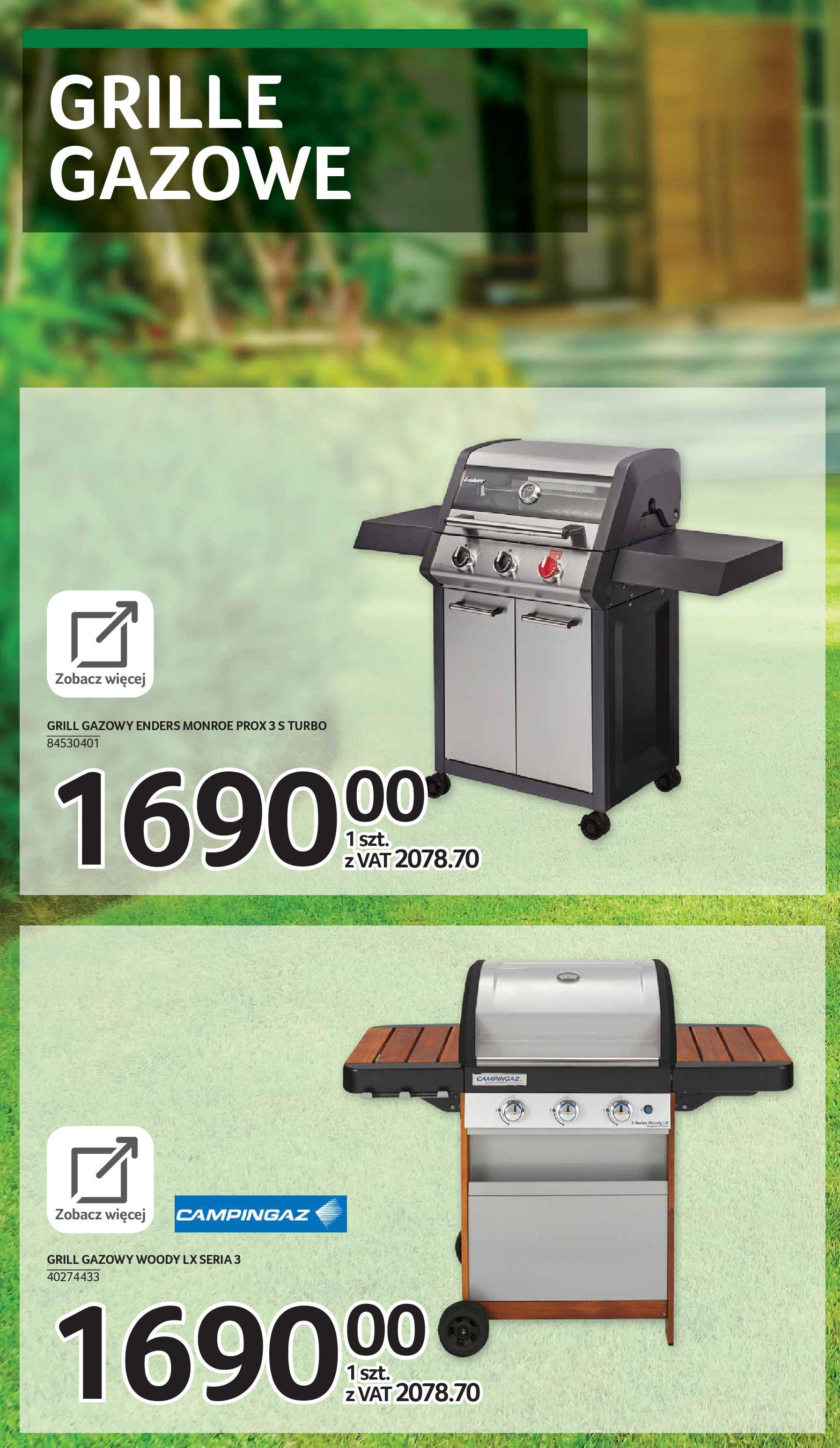 Gazetka Selgros: Katalog Grill i Wypoczynek 2021-04-07 page-38