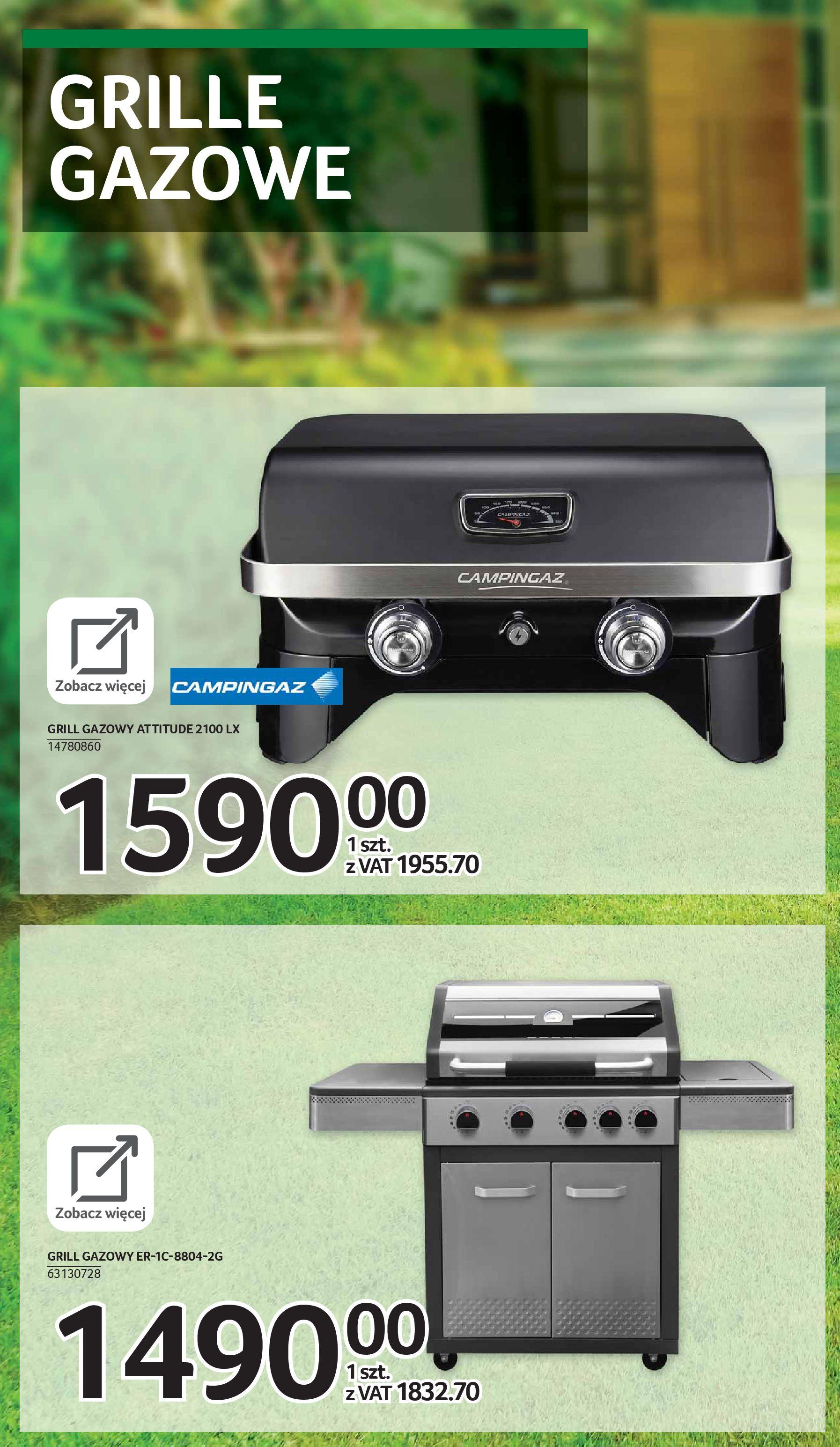 Gazetka Selgros: Katalog Grill i Wypoczynek 2021-04-07 page-39