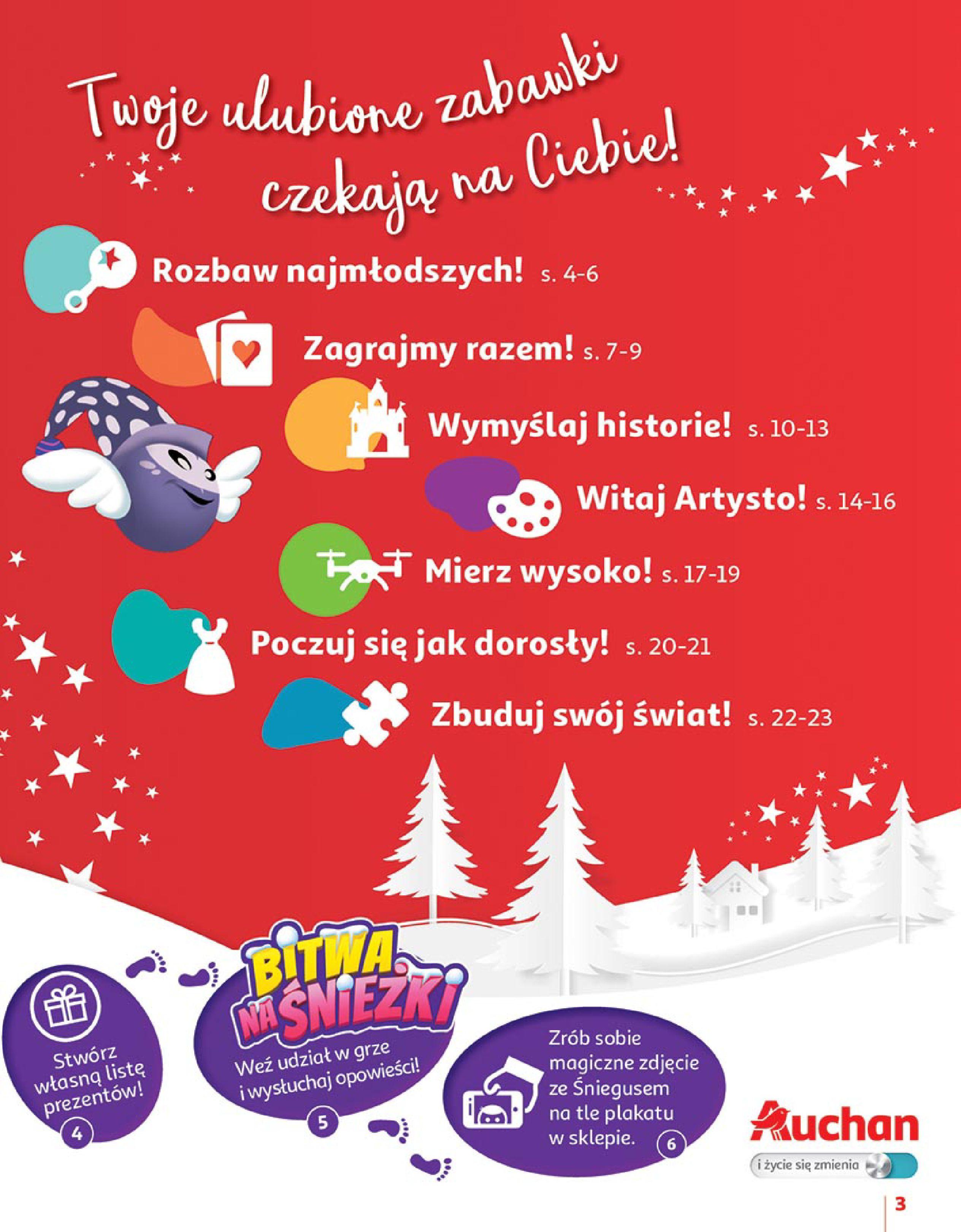 Gazetka Auchan - Zabawki Hipermarkety-02.11.2018-28.11.2018-page-