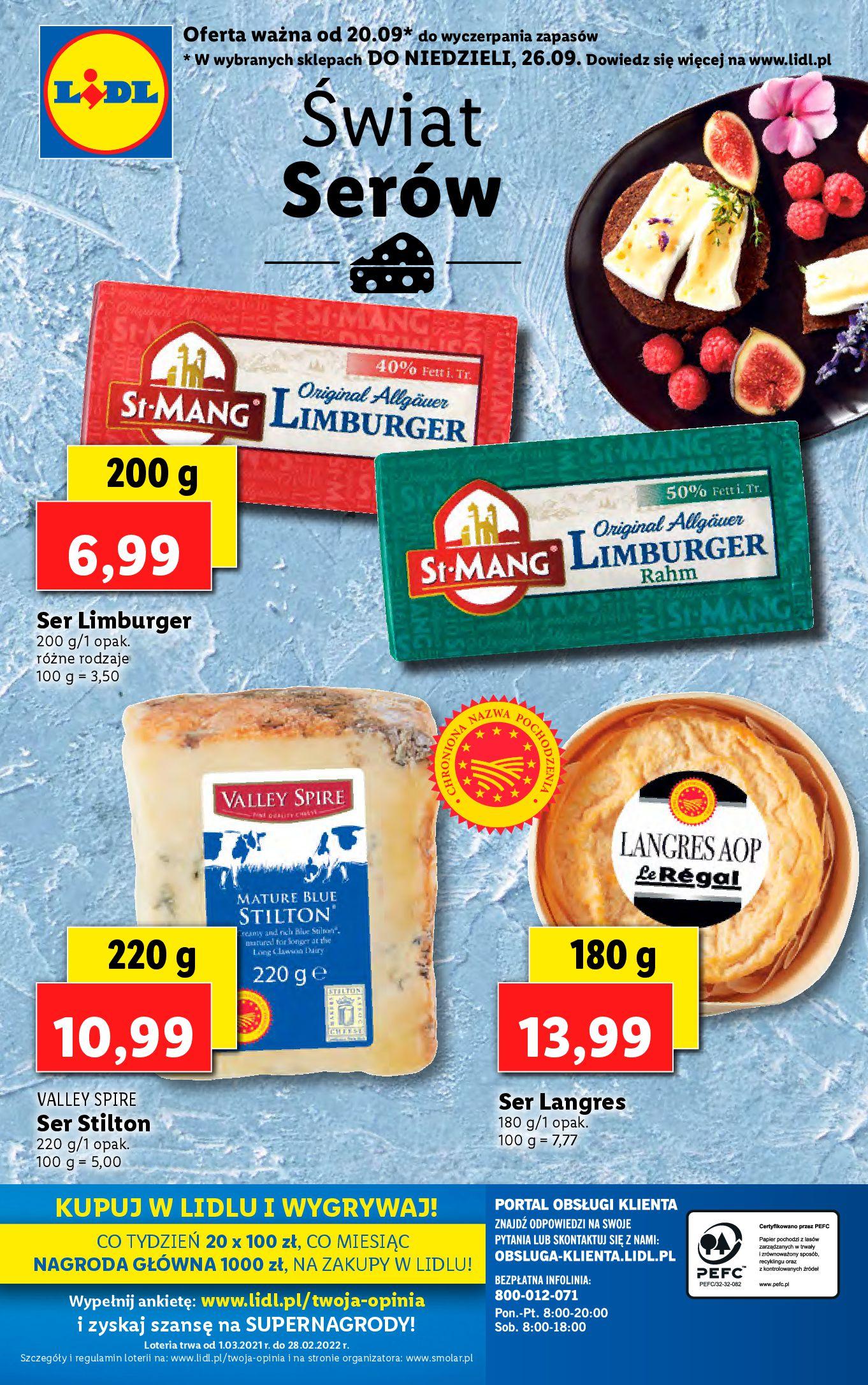 Gazetka Lidl: Gazetka Lidl - katalog ręczniki 2021-09-20 page-46