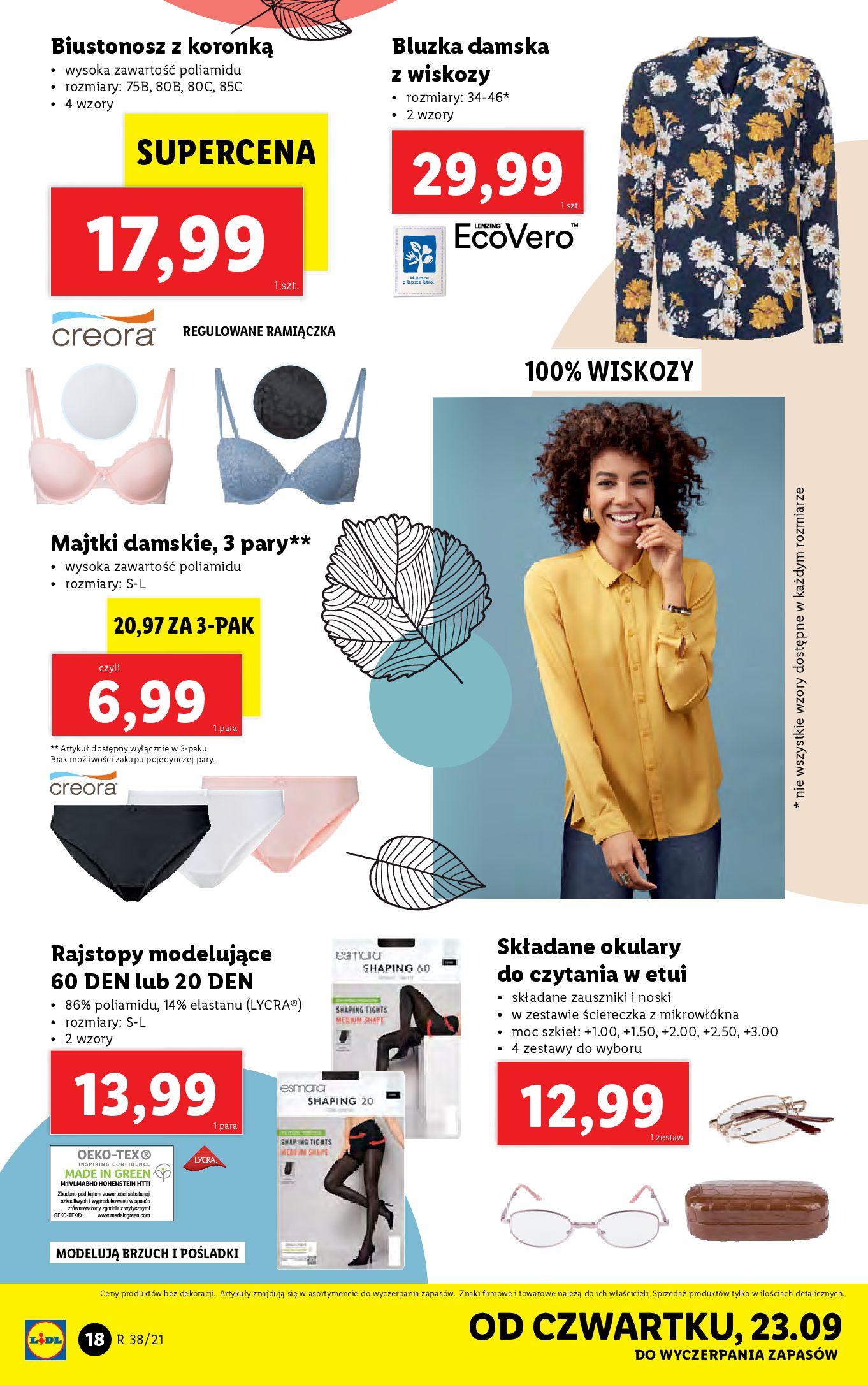 Gazetka Lidl: Gazetka Lidl - katalog ręczniki 2021-09-20 page-18
