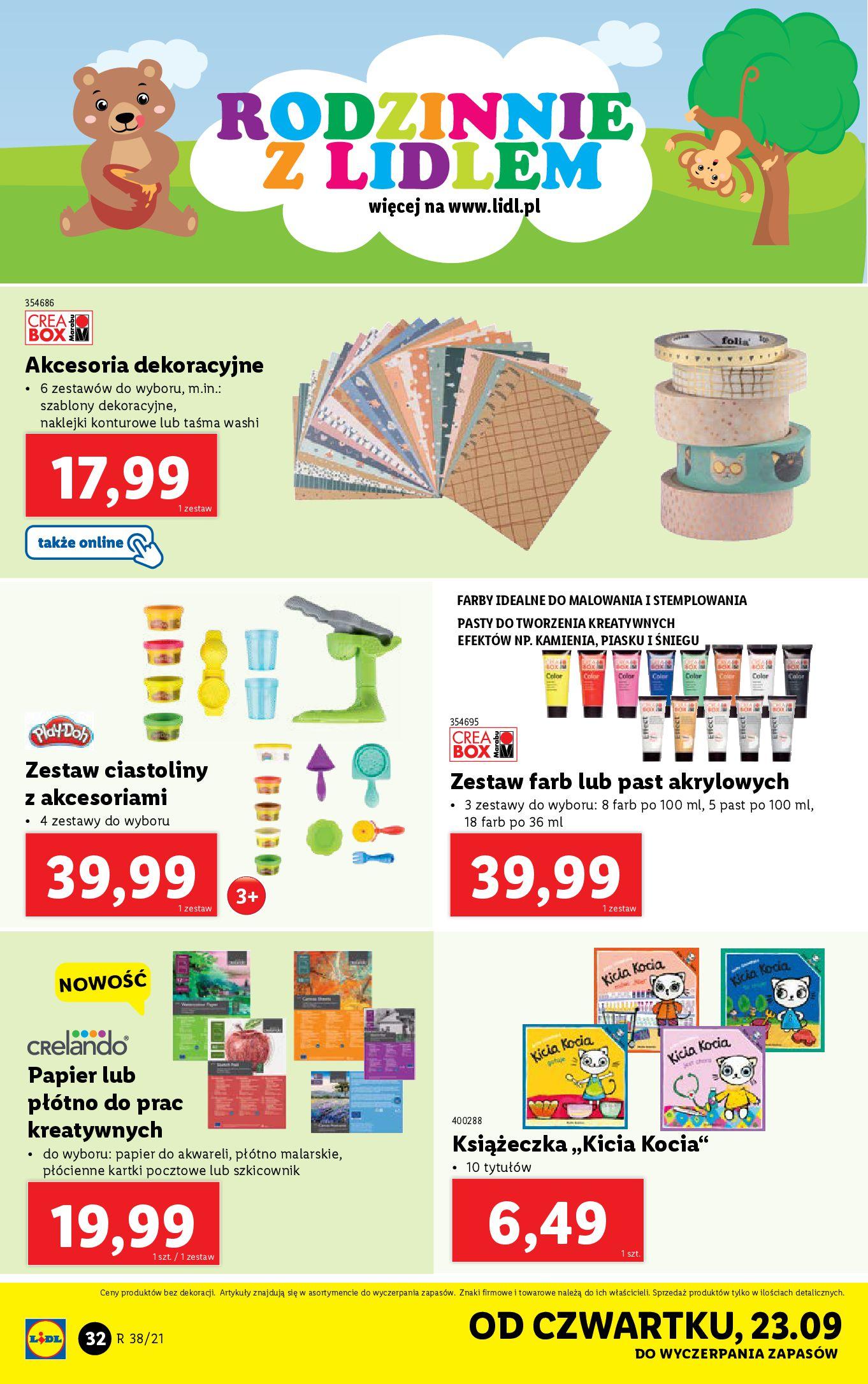 Gazetka Lidl: Gazetka Lidl - katalog ręczniki 2021-09-20 page-32