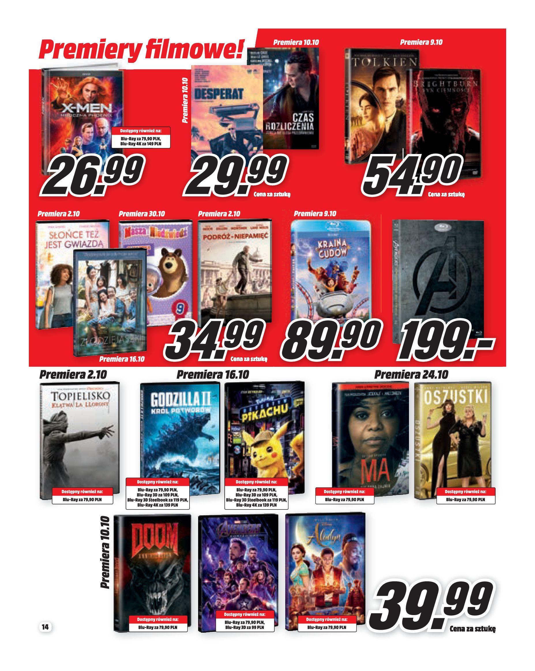 Gazetka Media Markt - Co słychać w rozrywce?-30.09.2019-31.10.2019-page-14
