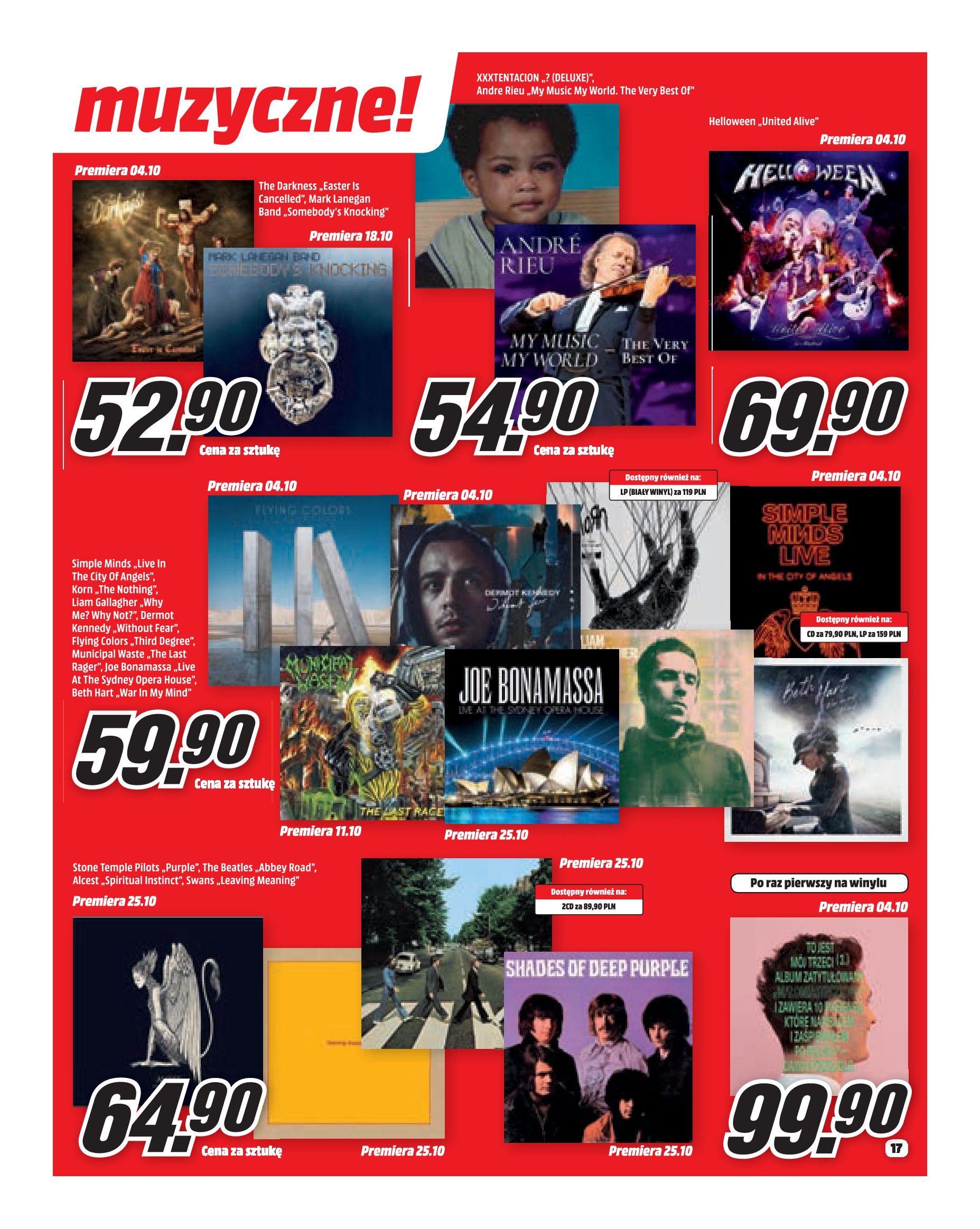 Gazetka Media Markt - Co słychać w rozrywce?-30.09.2019-31.10.2019-page-17