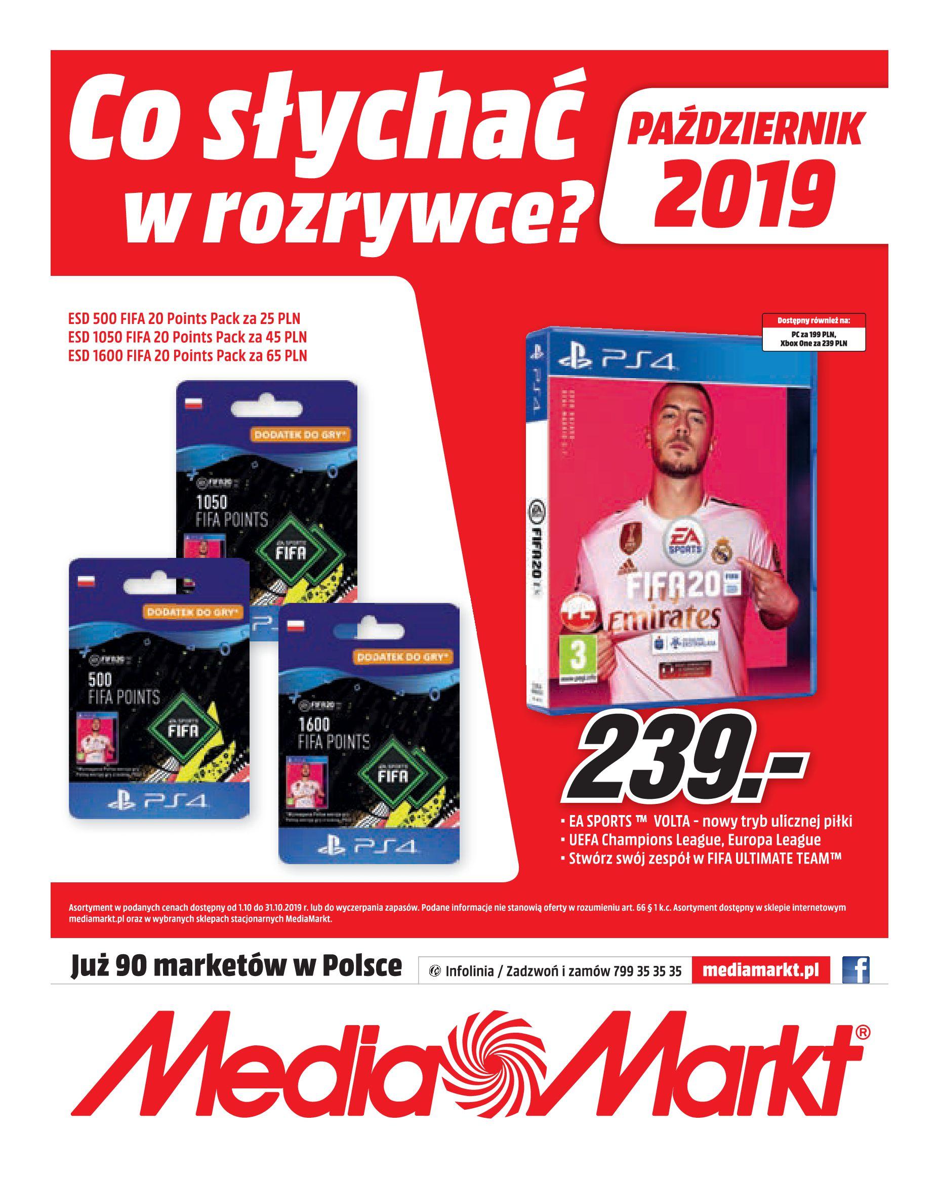 Gazetka Media Markt - Co słychać w rozrywce?-30.09.2019-31.10.2019-page-20