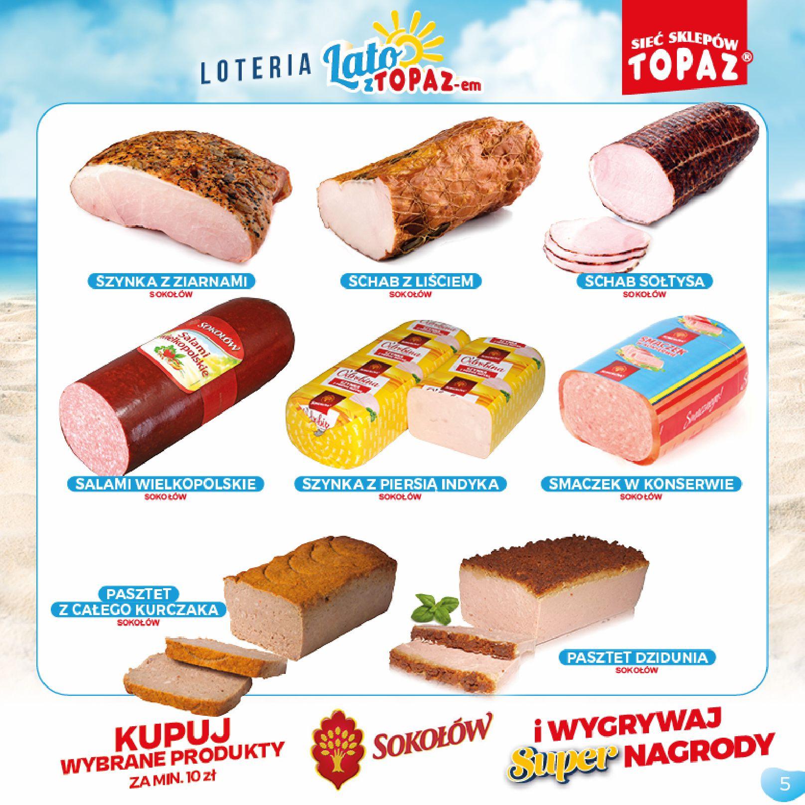 Gazetka TOPAZ: Gazetka TOPAZ - Loteria 2021-07-05 page-5