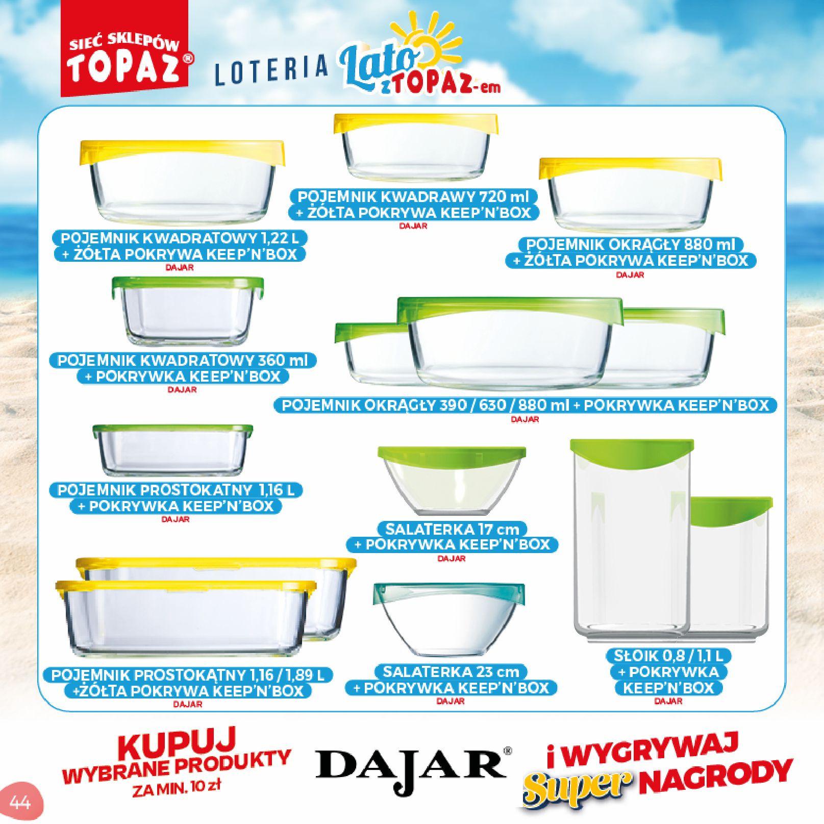 Gazetka TOPAZ: Gazetka TOPAZ - Loteria 2021-07-05 page-44