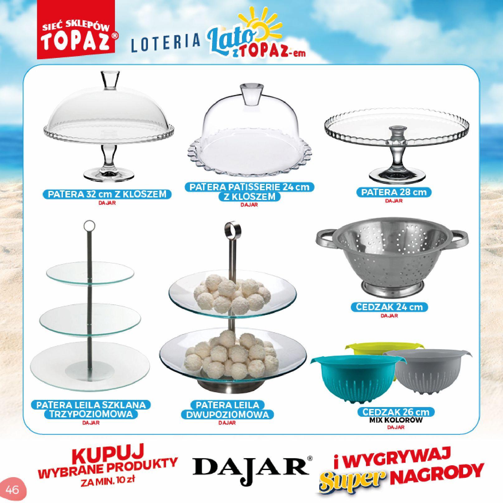 Gazetka TOPAZ: Gazetka TOPAZ - Loteria 2021-07-05 page-46