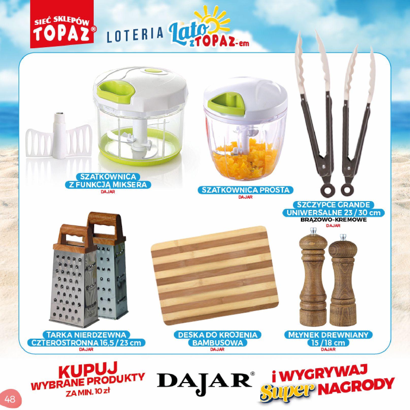 Gazetka TOPAZ: Gazetka TOPAZ - Loteria 2021-07-05 page-48